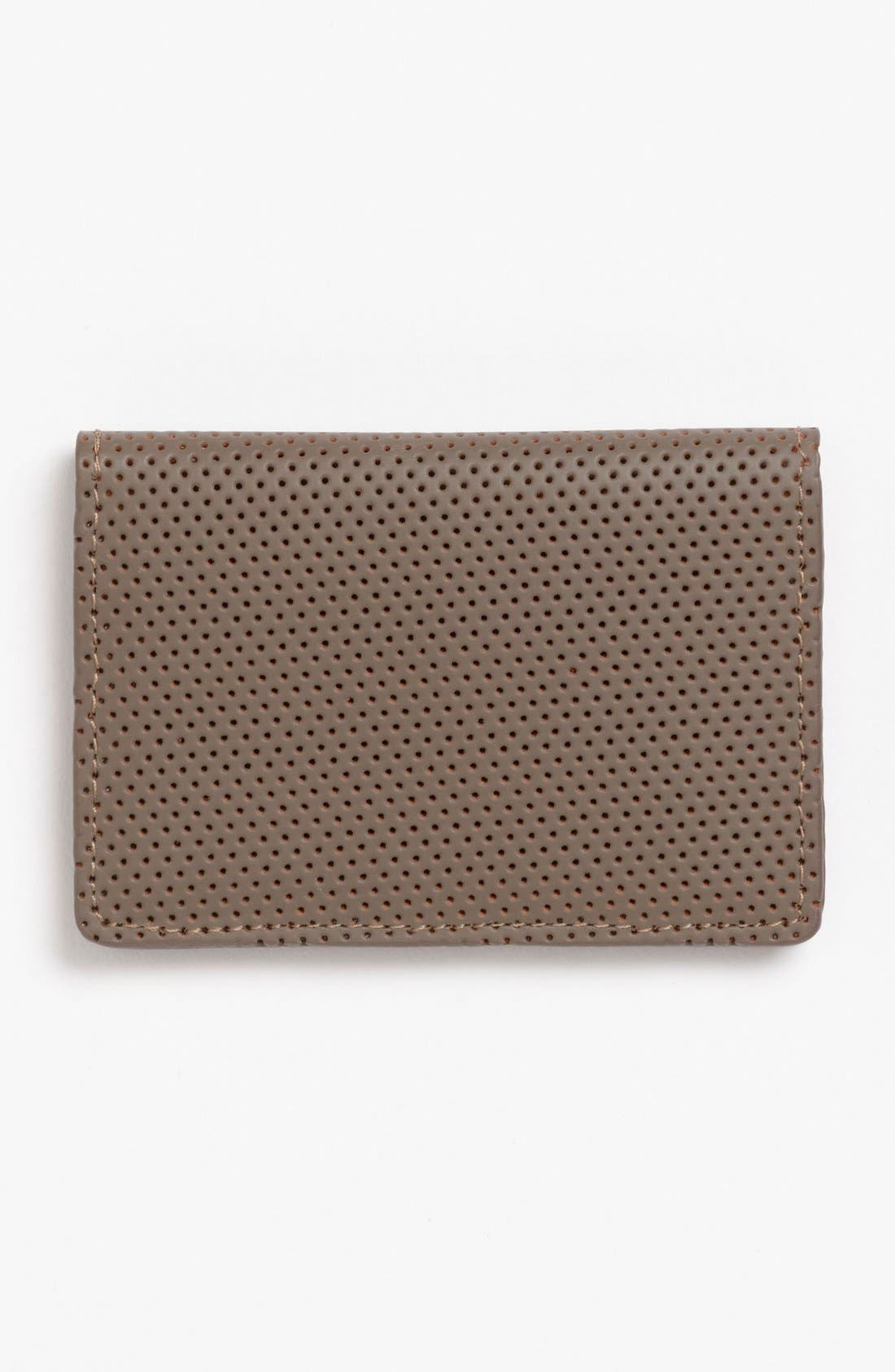 Main Image - J Fold 'Microperf' Folding Card Holder