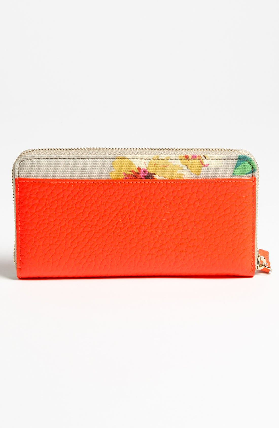Alternate Image 4  - kate spade new york 'grove court floral - lacey' zip around wallet