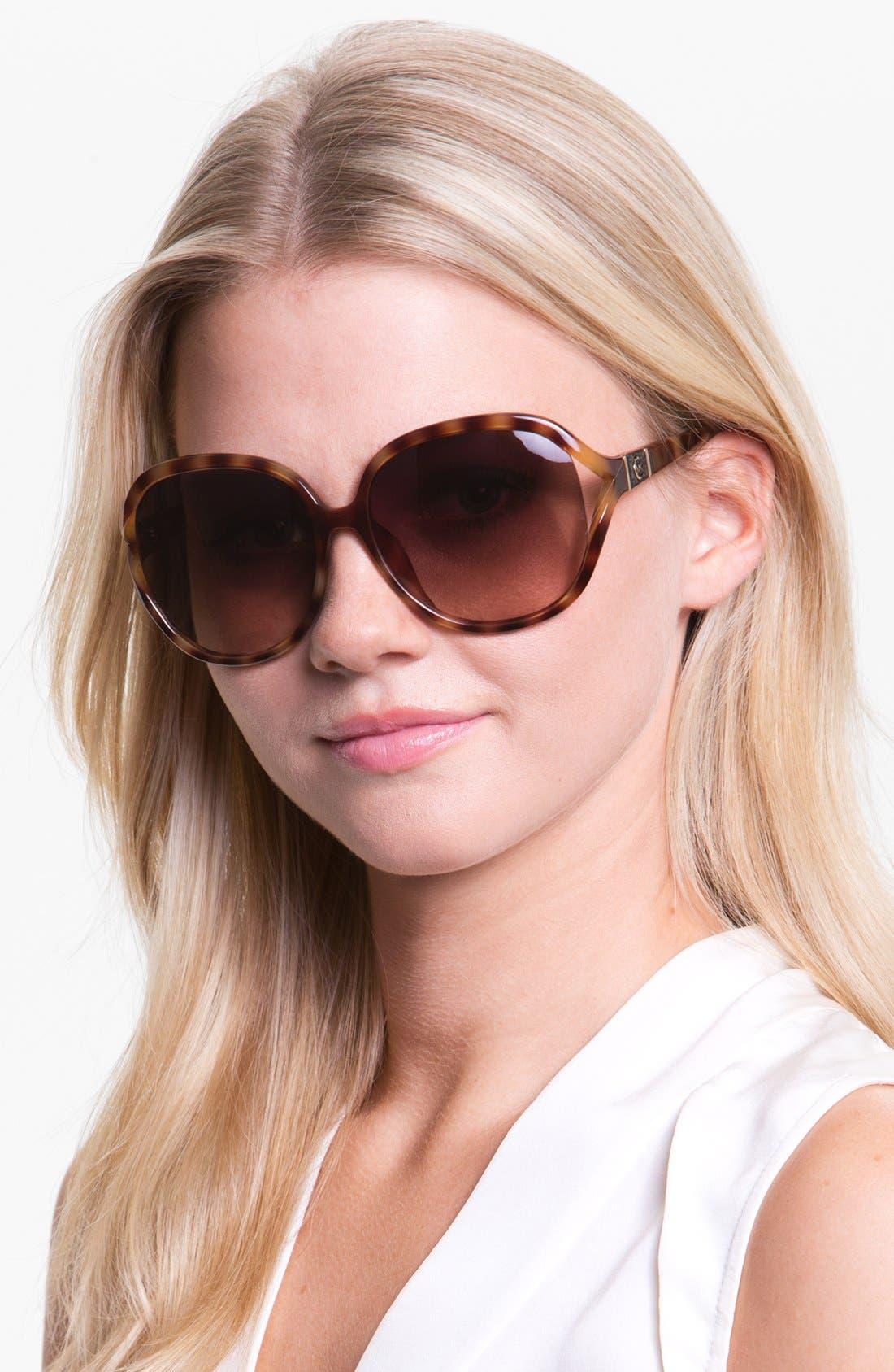 Main Image - MICHAEL Michael Kors 'Vanessa' 61mm Oversized Sunglasses
