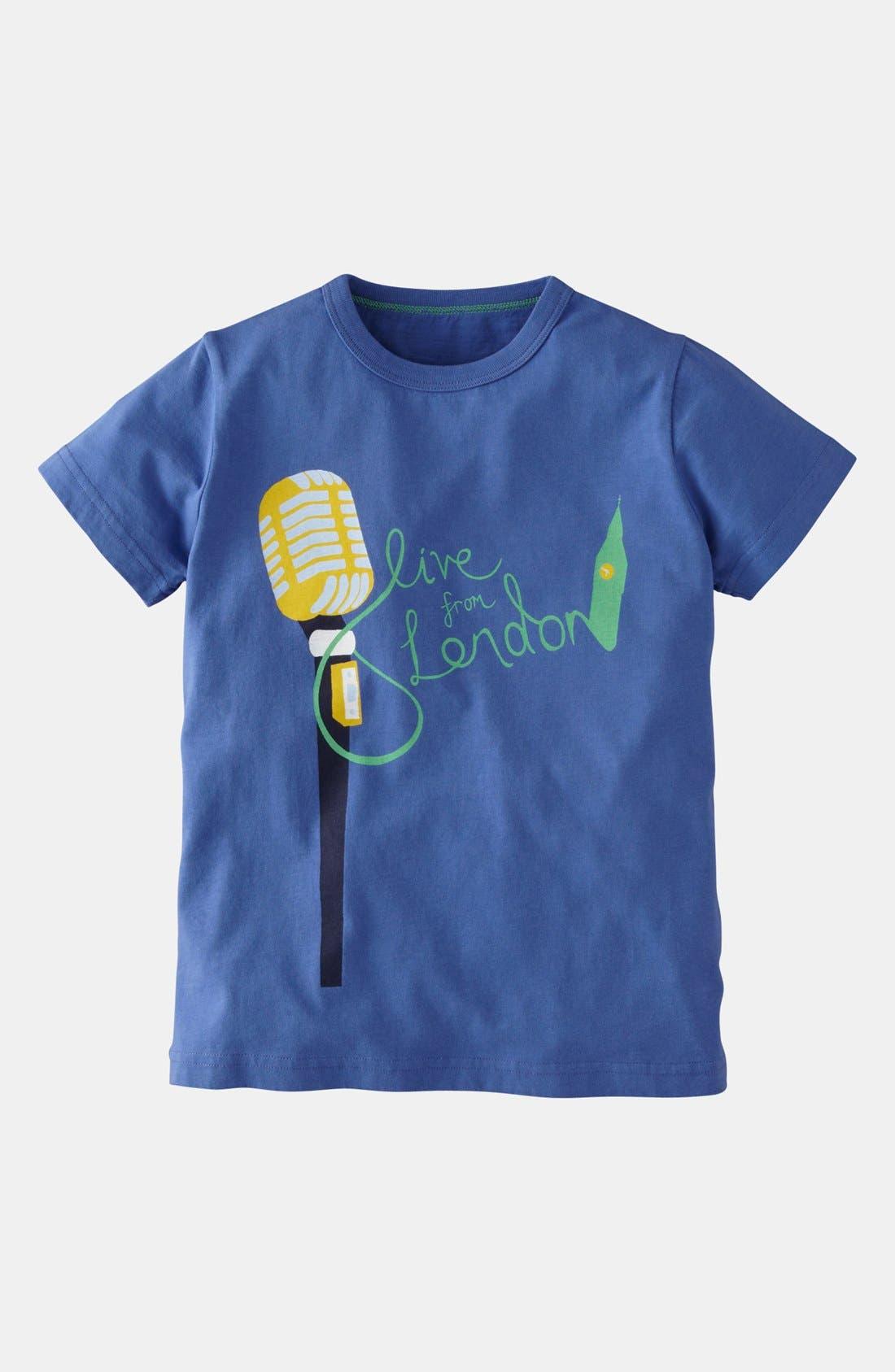 Alternate Image 1 Selected - Mini Boden 'Icon' T-Shirt (Toddler, Little Boys & Big Boys)