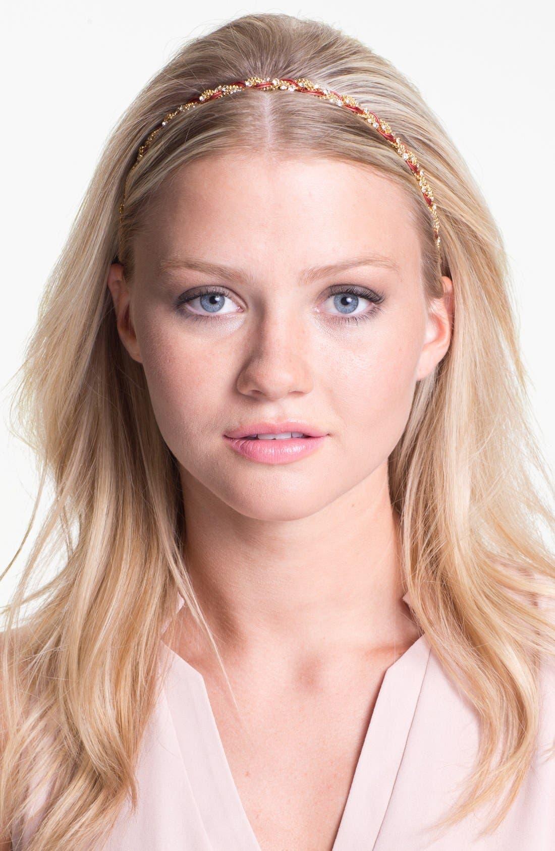 Alternate Image 1 Selected - Cara 'Braided Beauty' Head Wrap