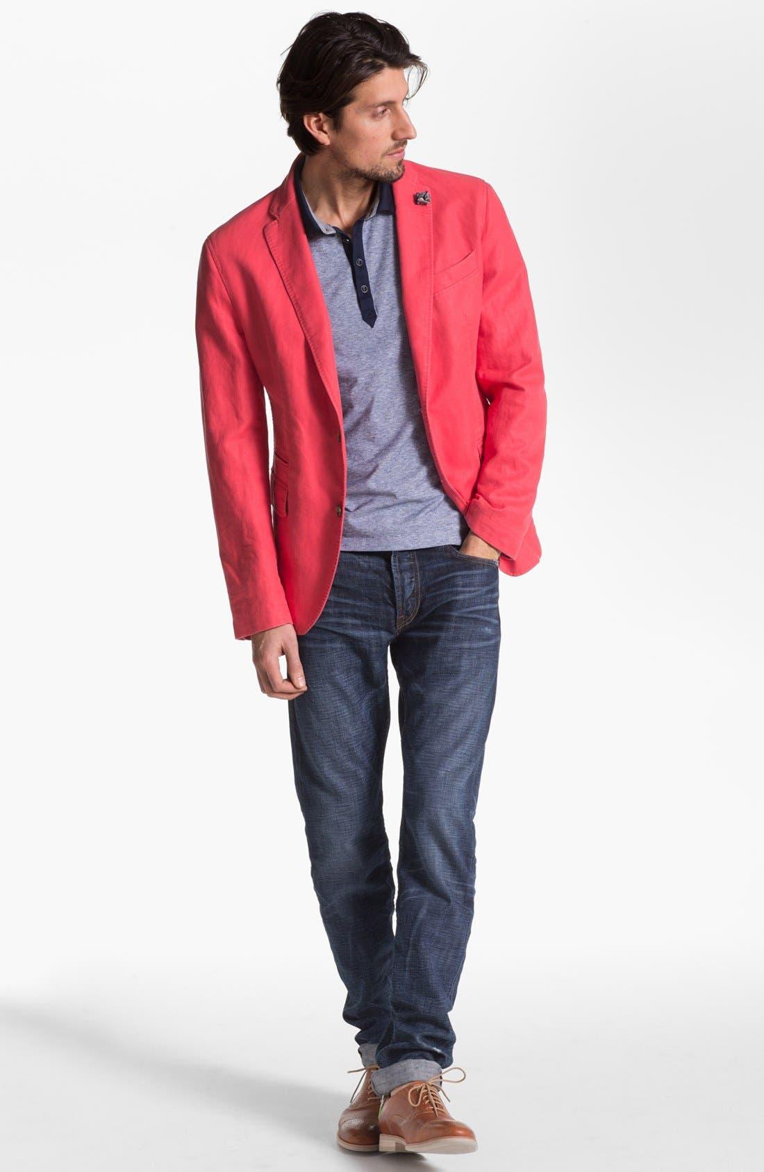 Alternate Image 4  - BOSS HUGO BOSS 'Arpino' Slim Fit Polo