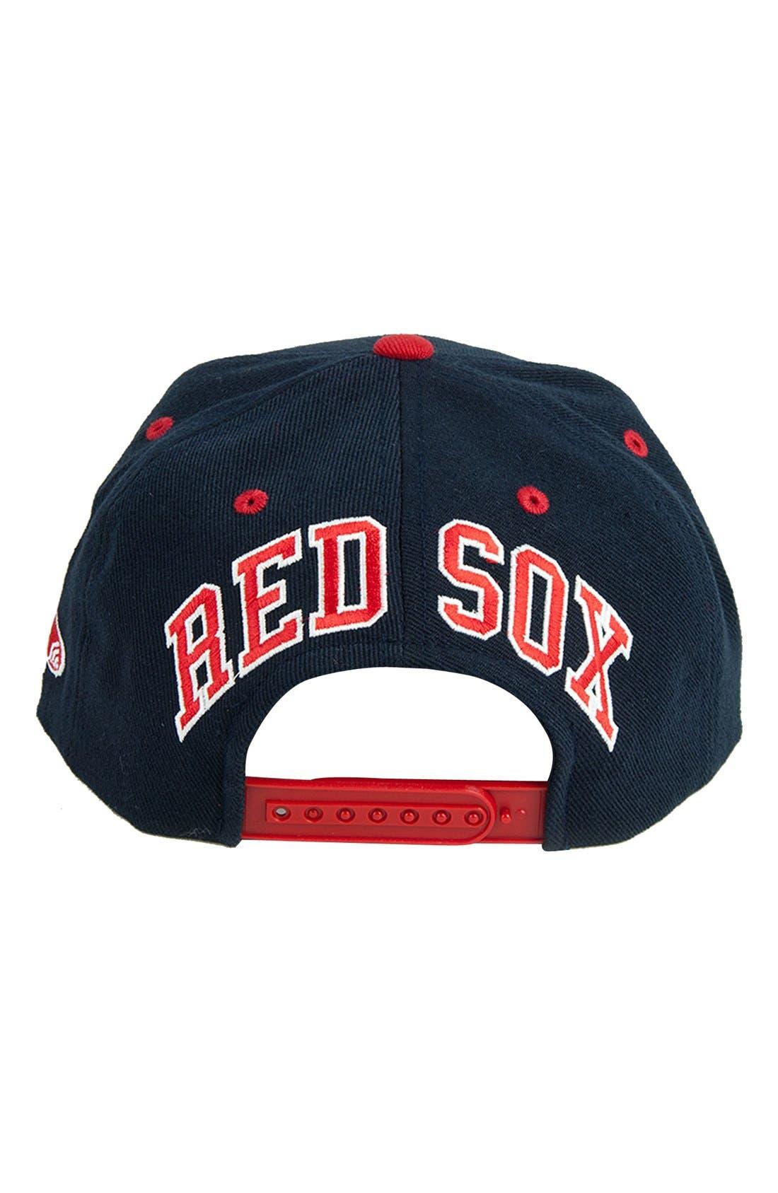 Alternate Image 2  - American Needle 'Boston Red Sox - Blockhead' Snapback Baseball Cap