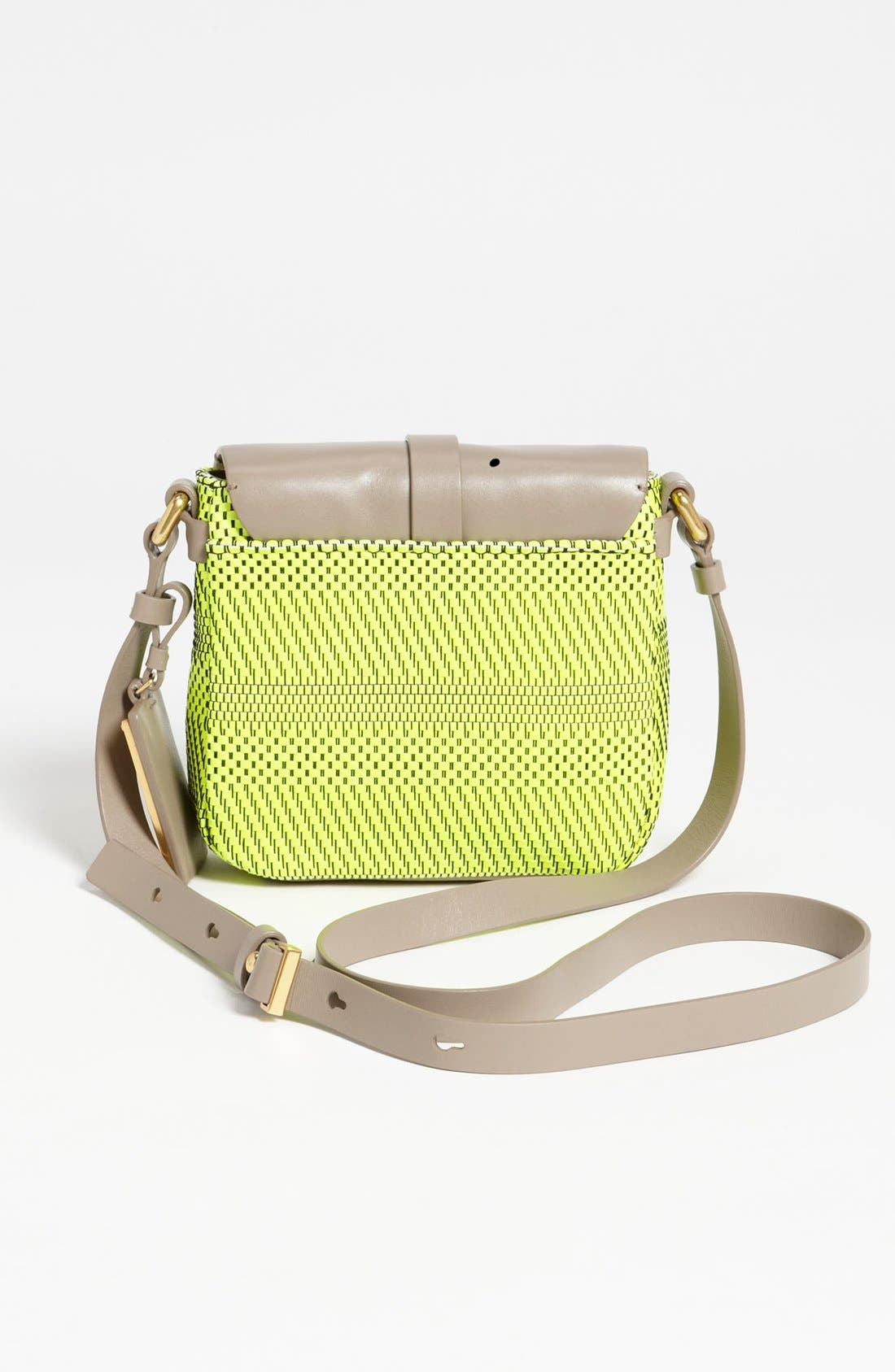 Alternate Image 4  - MARC BY MARC JACOBS 'Werdie Weavy - Isabella' Faux Leather Crossbody Bag
