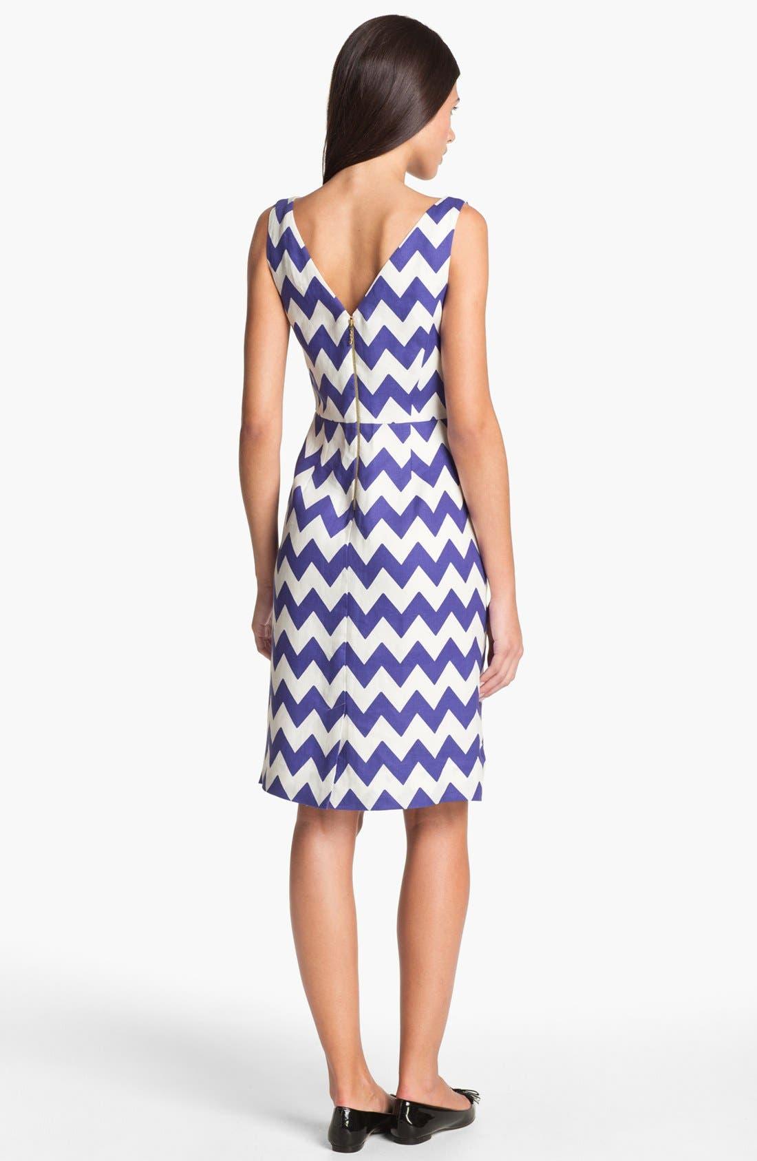 Alternate Image 2  - kate spade new york 'brent' linen sheath dress