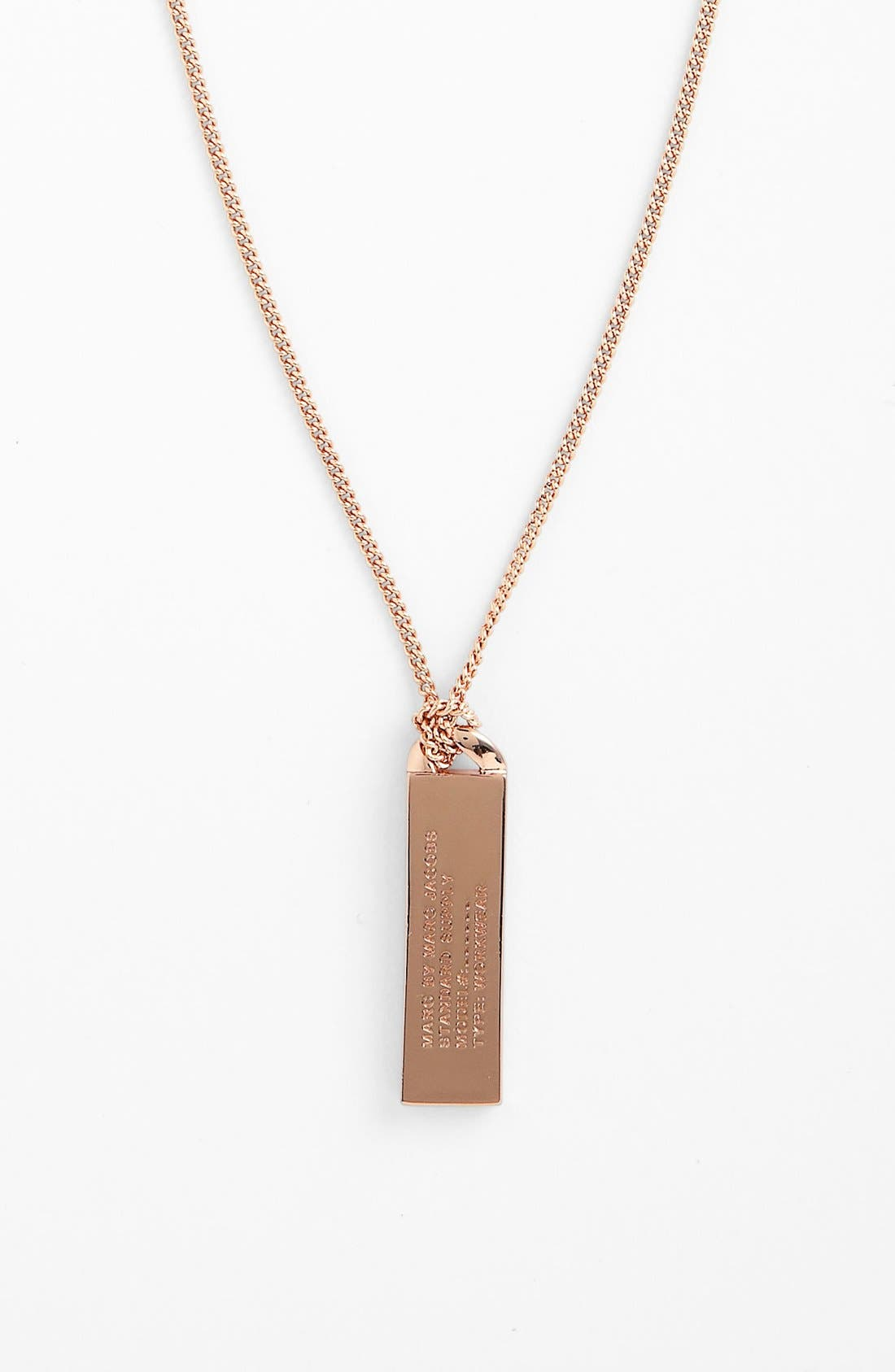 Alternate Image 1 Selected - MARC BY MARC JACOBS 'Trompe l'Oeil' ID Necklace