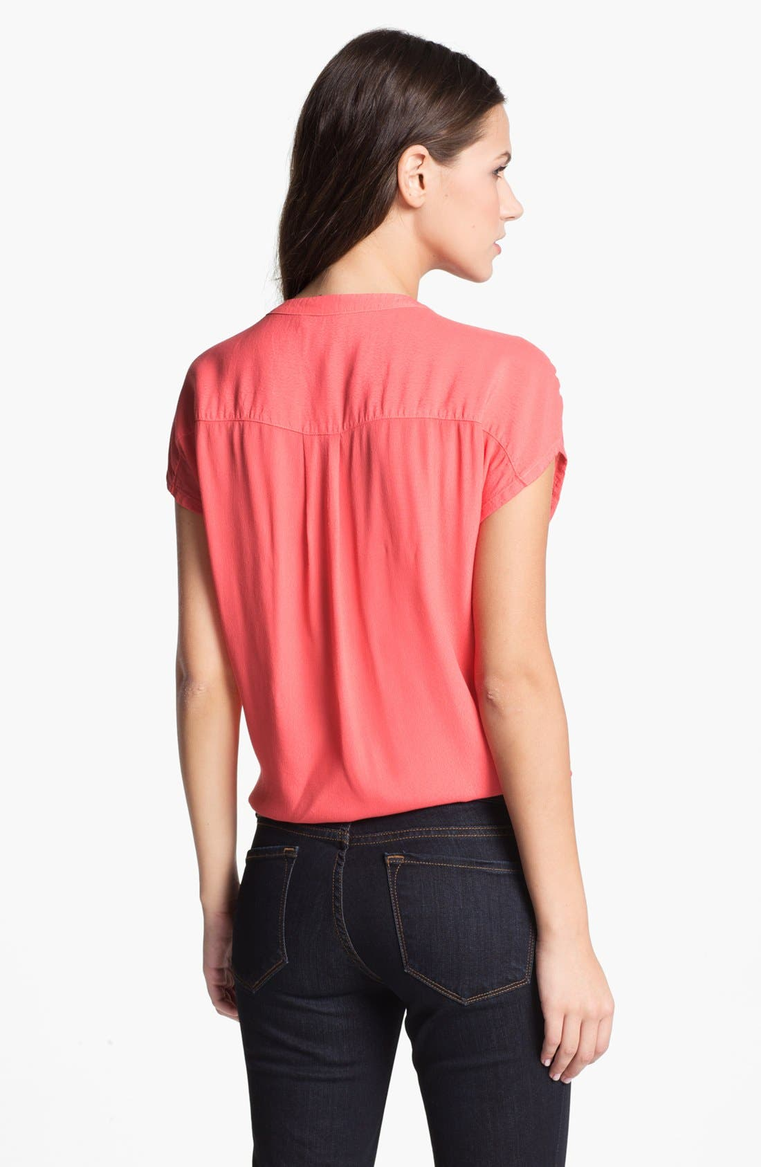 Alternate Image 2  - Soft Joie 'Chally' Tie Front Top