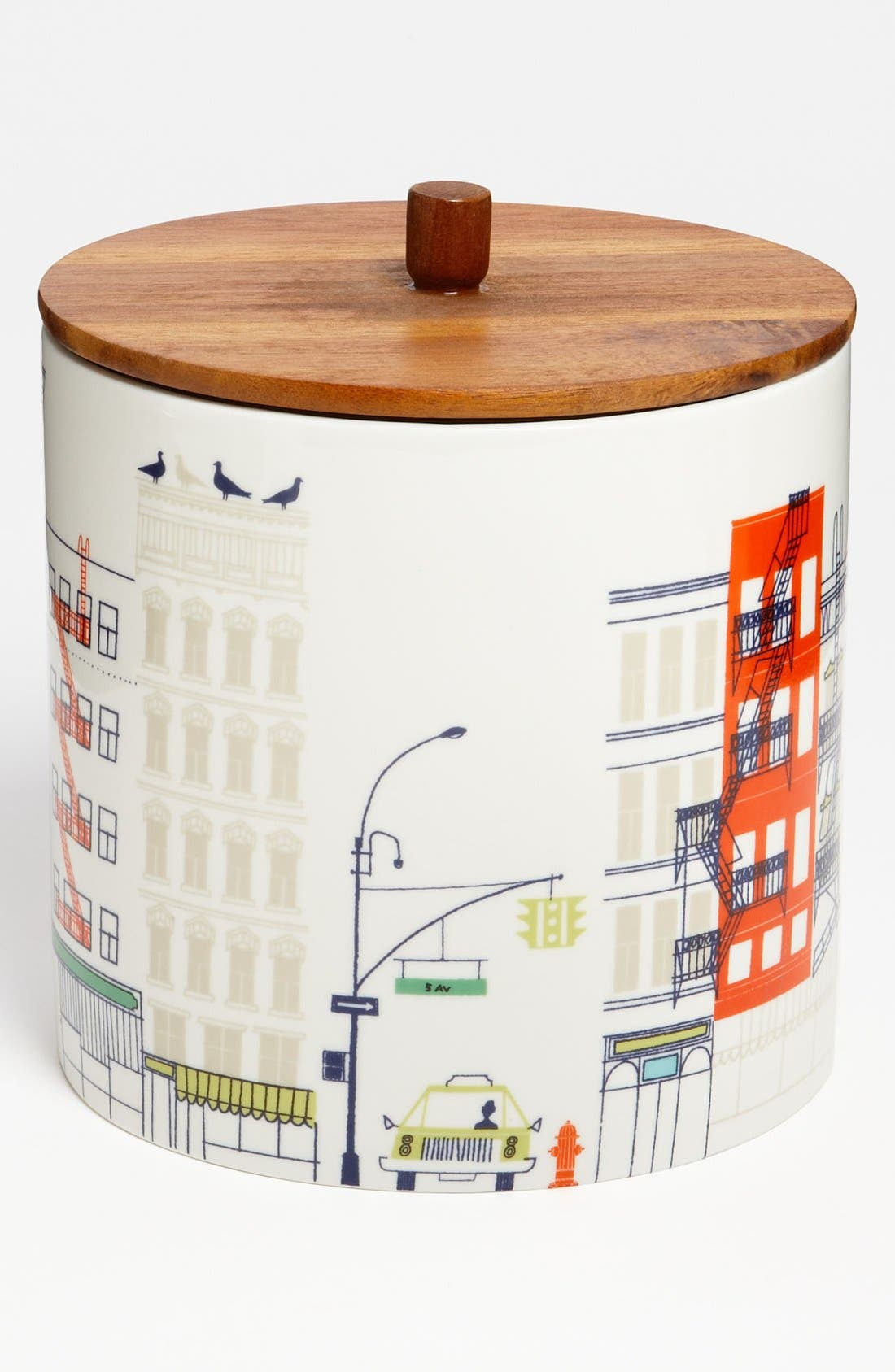 Alternate Image 1 Selected - kate spade new york 'hopscotch drive about town' large canister