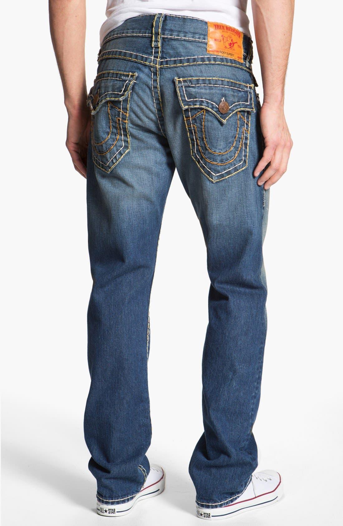 Main Image - True Religion Brand Jeans 'Ricky' Straight Leg Jeans (Tribute)