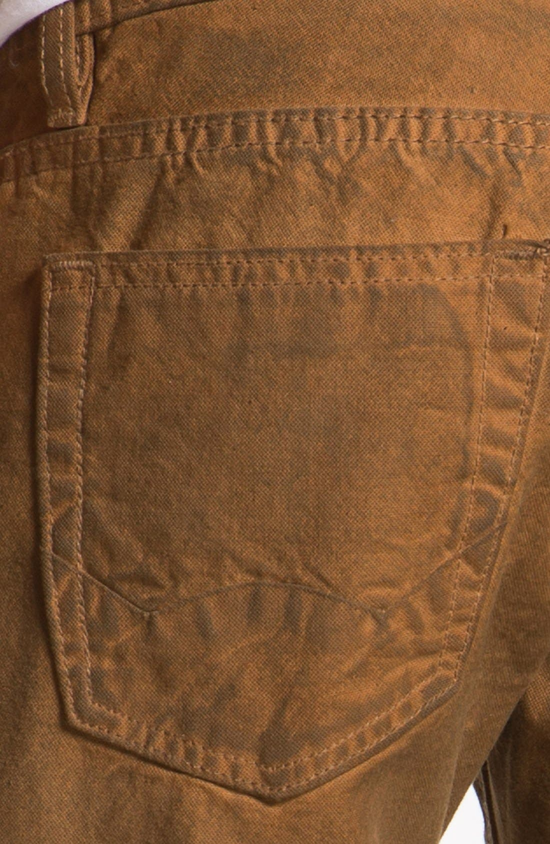 Alternate Image 4  - Cult of Individuality 'Hagen' Relaxed Straight Leg Jeans (Molasses)