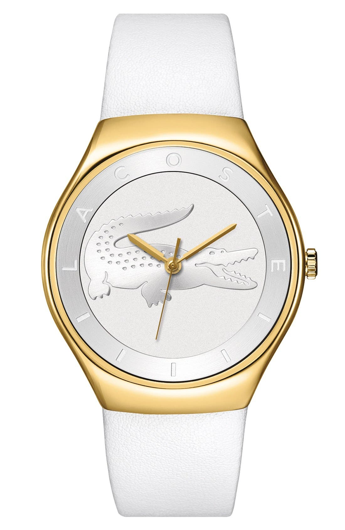 Alternate Image 1 Selected - Lacoste 'Valencia' Logo Dial Watch, 38mm