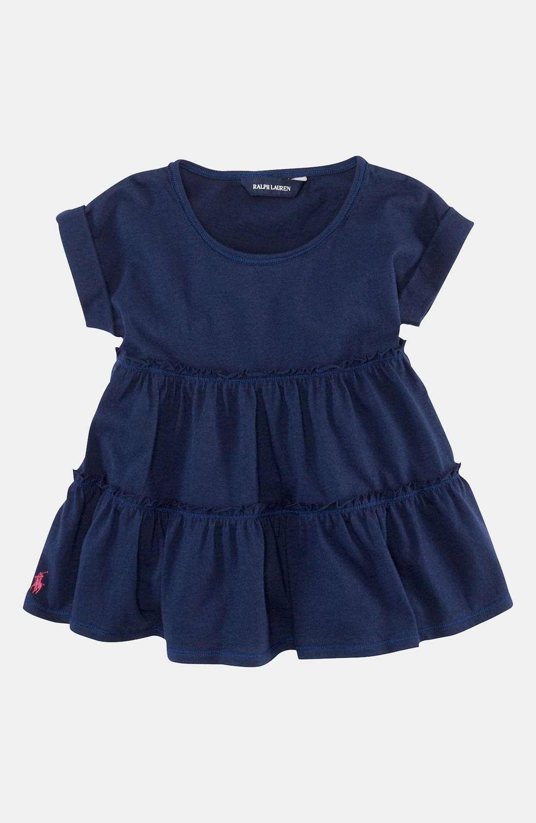 Alternate Image 1 Selected - Ralph Lauren Knit Top (Toddler)