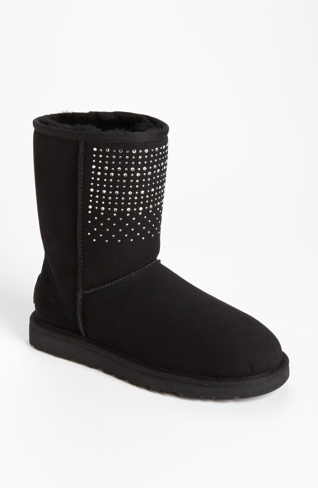 Alternate Image 1 Selected - UGG® Australia 'Classic Short Bling' Boot (Women)