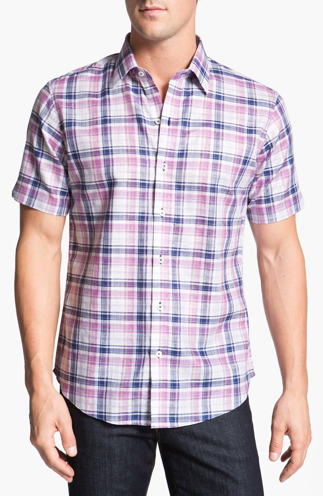 Main Image - Zachary Prell 'Colding' Short Sleeve Sport Shirt