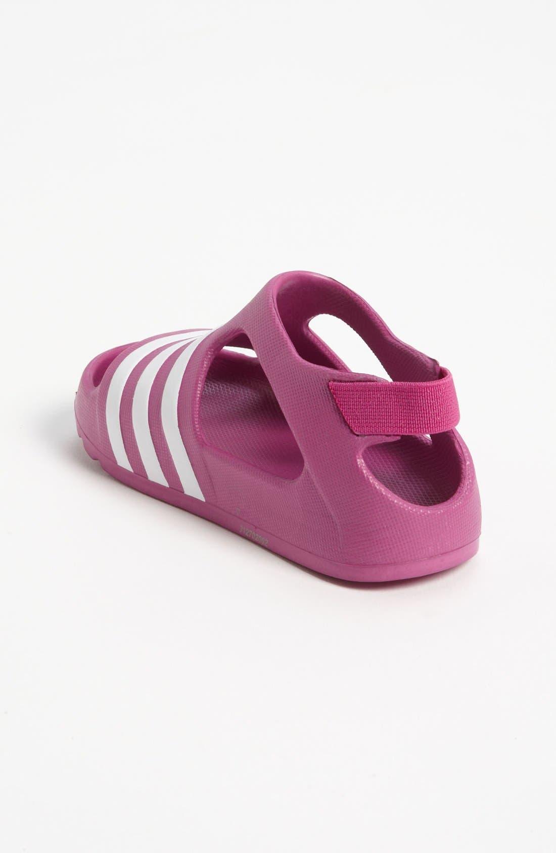 Alternate Image 2  - adidas 'Adilette' Sandal (Baby, Walker & Toddler)