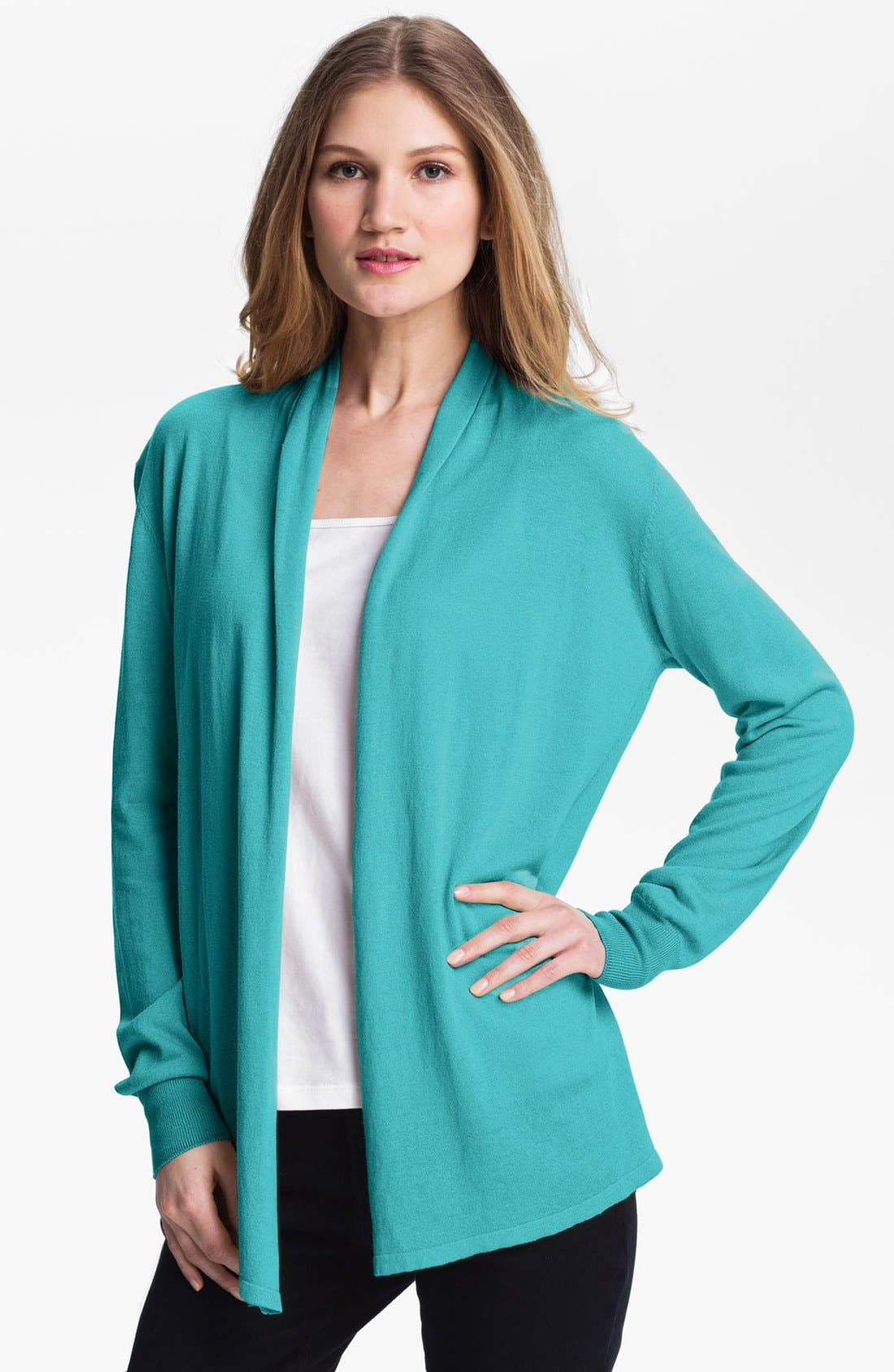 Alternate Image 1 Selected - Fever Drape Front Cardigan
