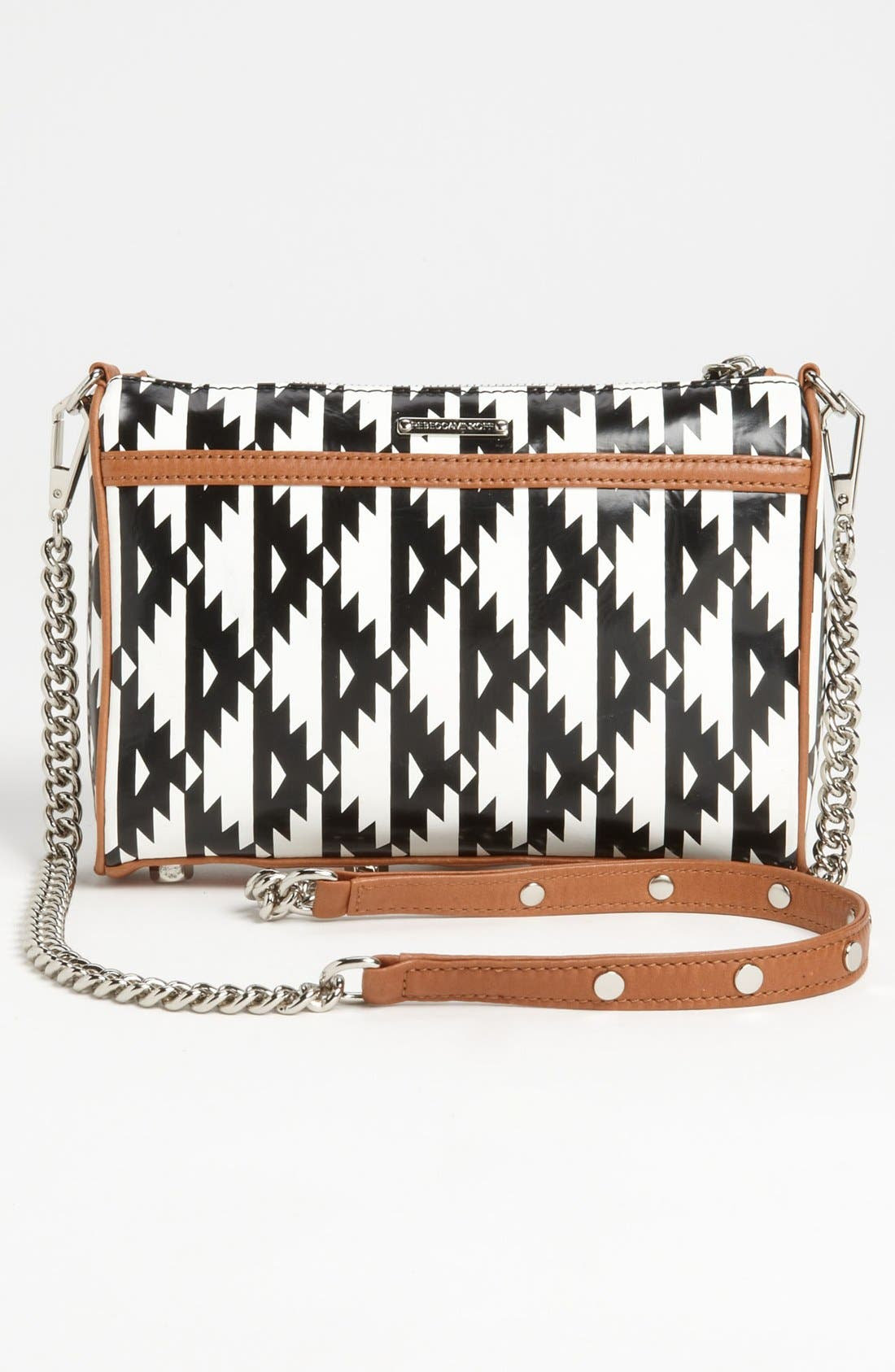 Alternate Image 4  - Rebecca Minkoff 'Mini MAC' Ikat Leather Convertible Crossbody Bag