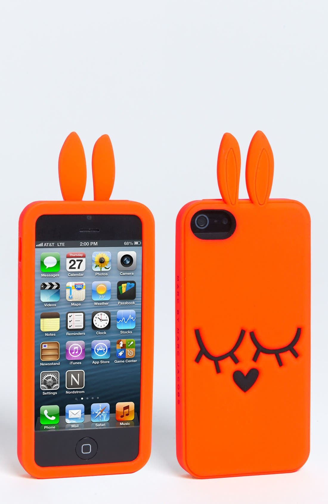 Alternate Image 1 Selected - MARC BY MARC JACOBS 'Katie the Bunny' iPhone 5 & 5S Case