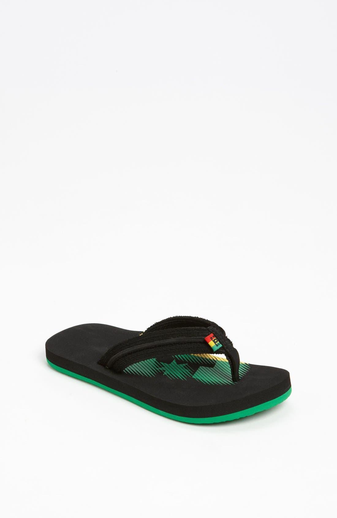 Alternate Image 1 Selected - DC Shoes 'Central' Sandal (Toddler, Little Kid & Big Kid)
