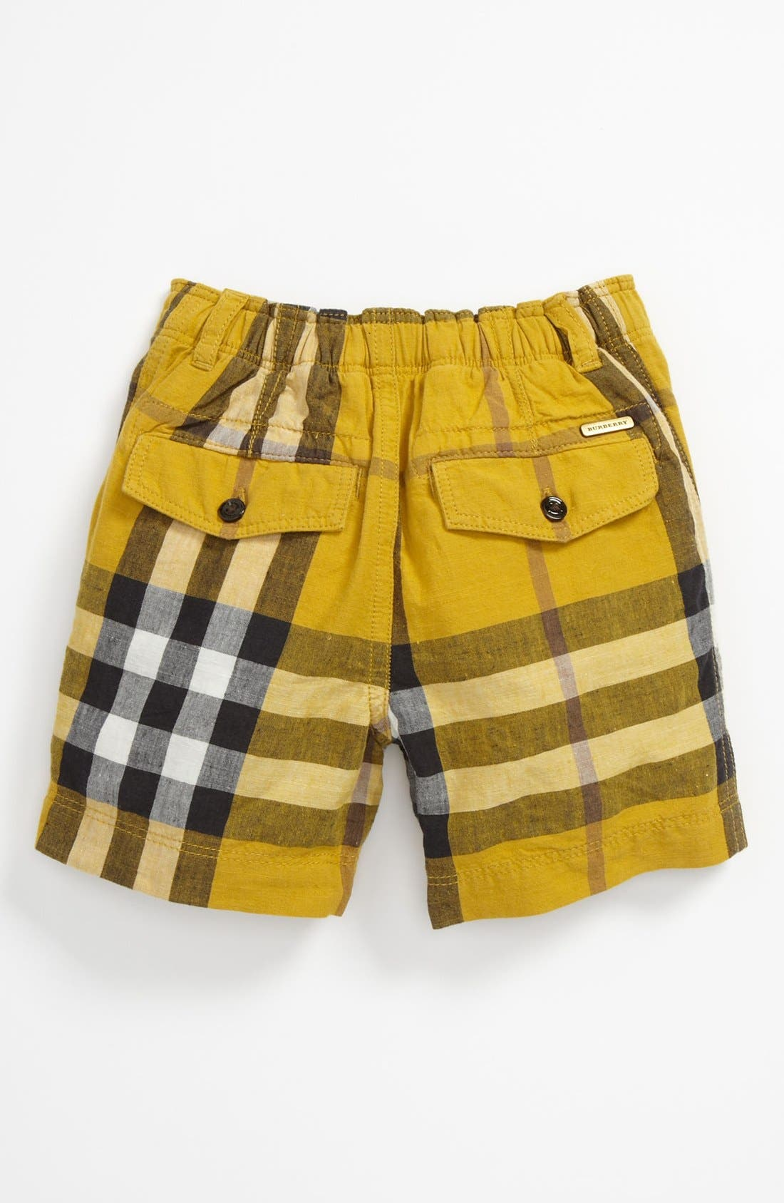 Alternate Image 2  - Burberry 'Mini Scout' Shorts (Baby)