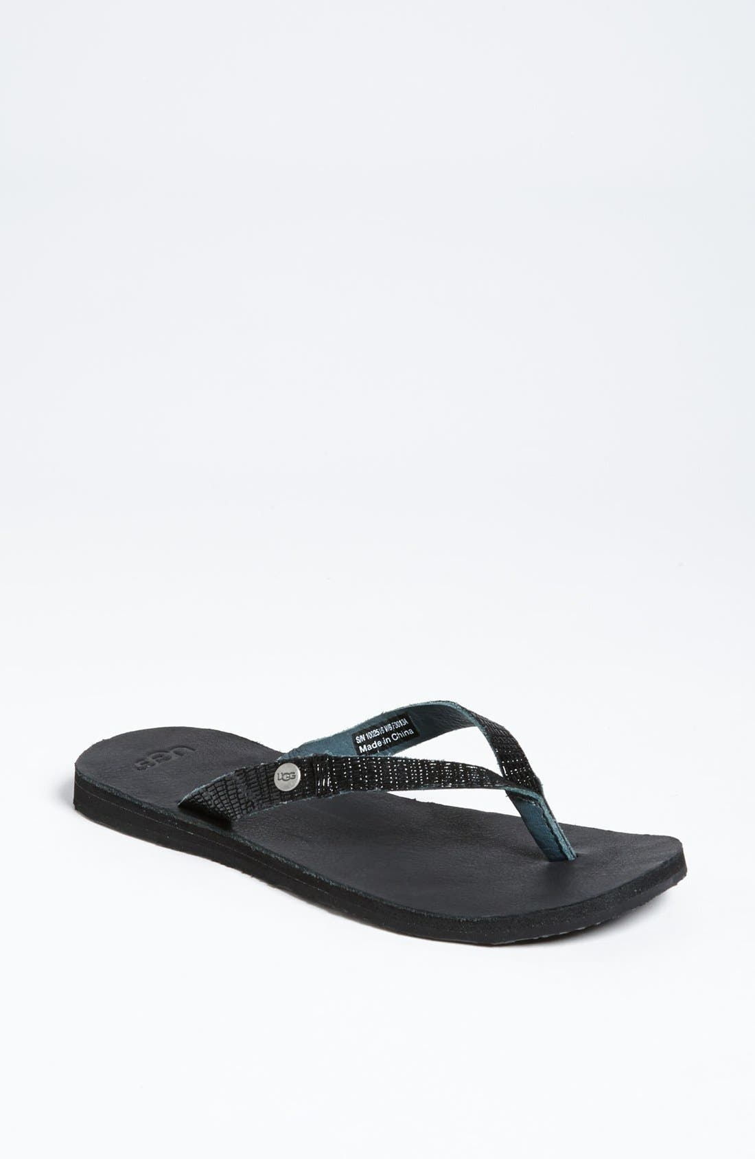 Alternate Image 1 Selected - UGG® Australia 'Ally II' Flip Flop (Women)