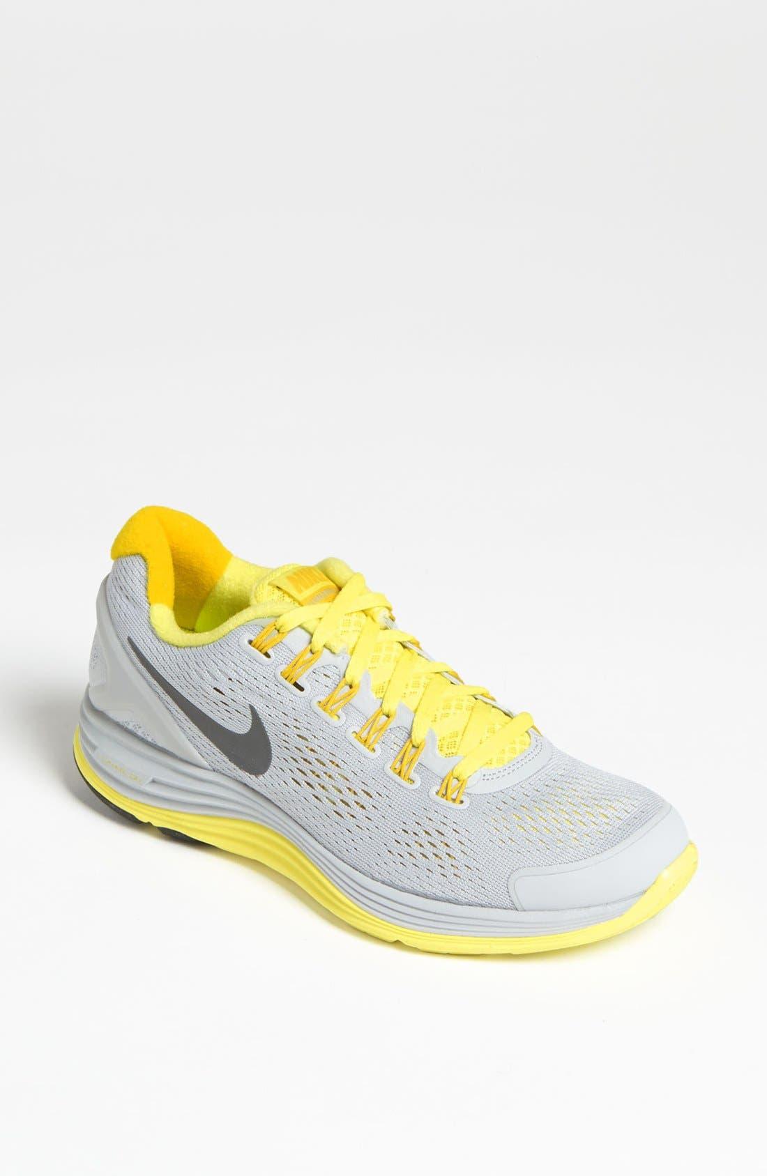Alternate Image 1 Selected - Nike 'LunarGlide+ 4' Running Shoe (Women)