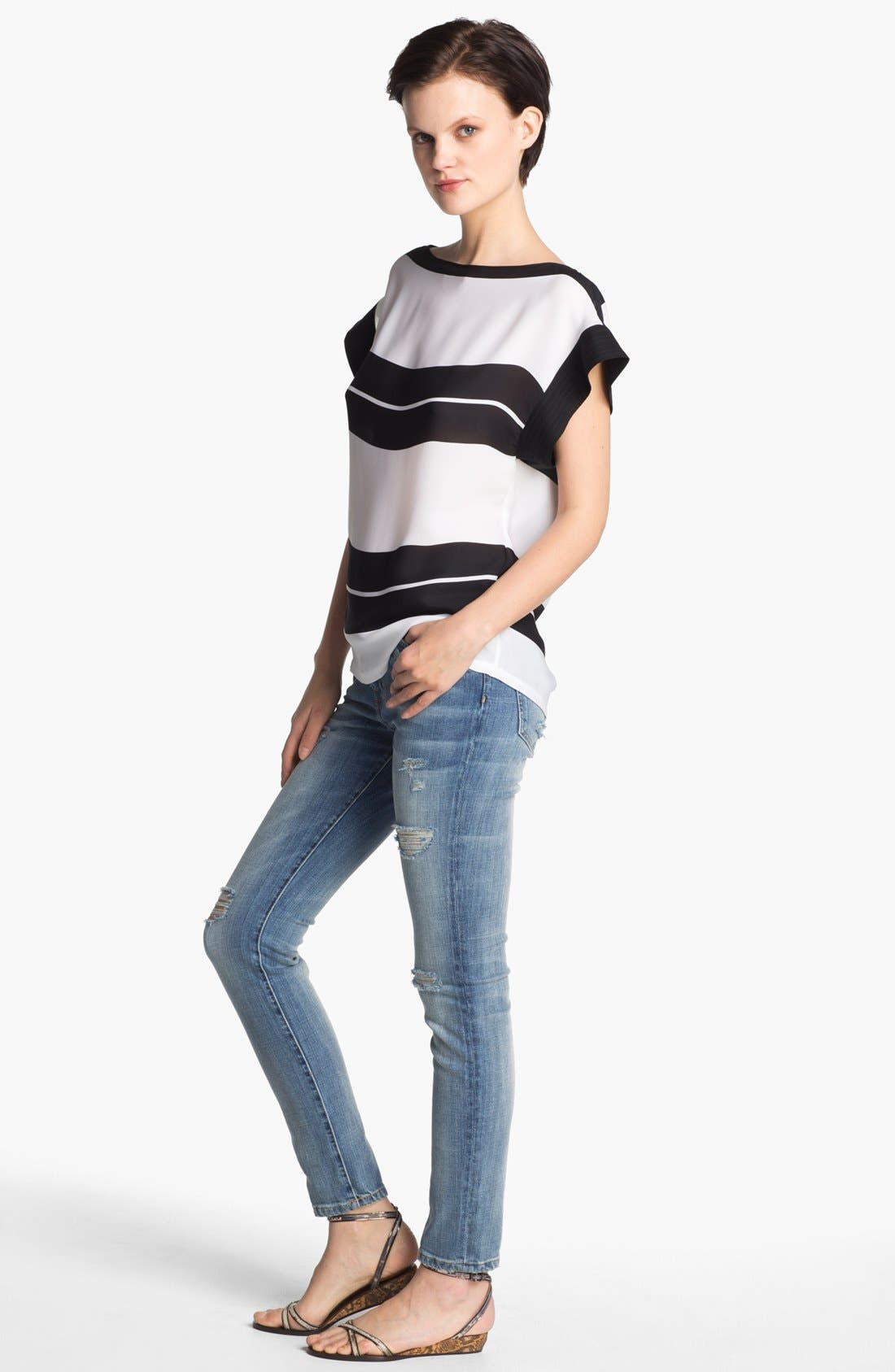 Alternate Image 1 Selected - A.L.C. 'Chavelli' Stripe Top