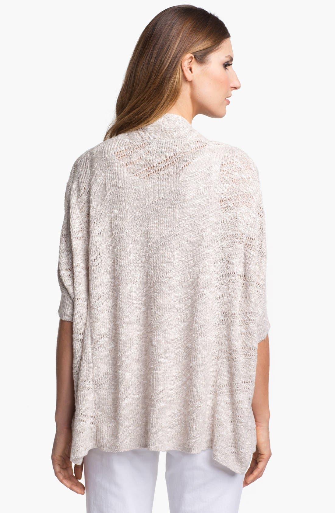 Alternate Image 2  - Eileen Fisher Elbow Sleeve Boxy Cardigan