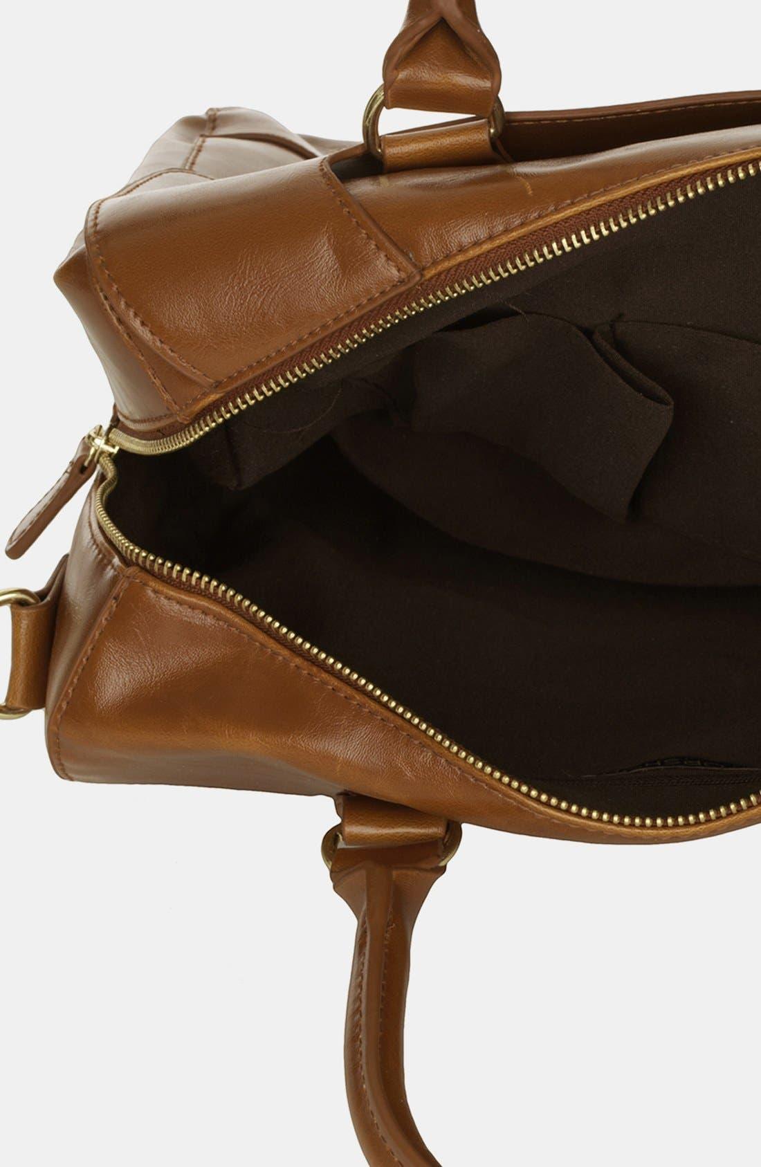 Alternate Image 3  - Topshop 'Clean Bowling Bag' Satchel