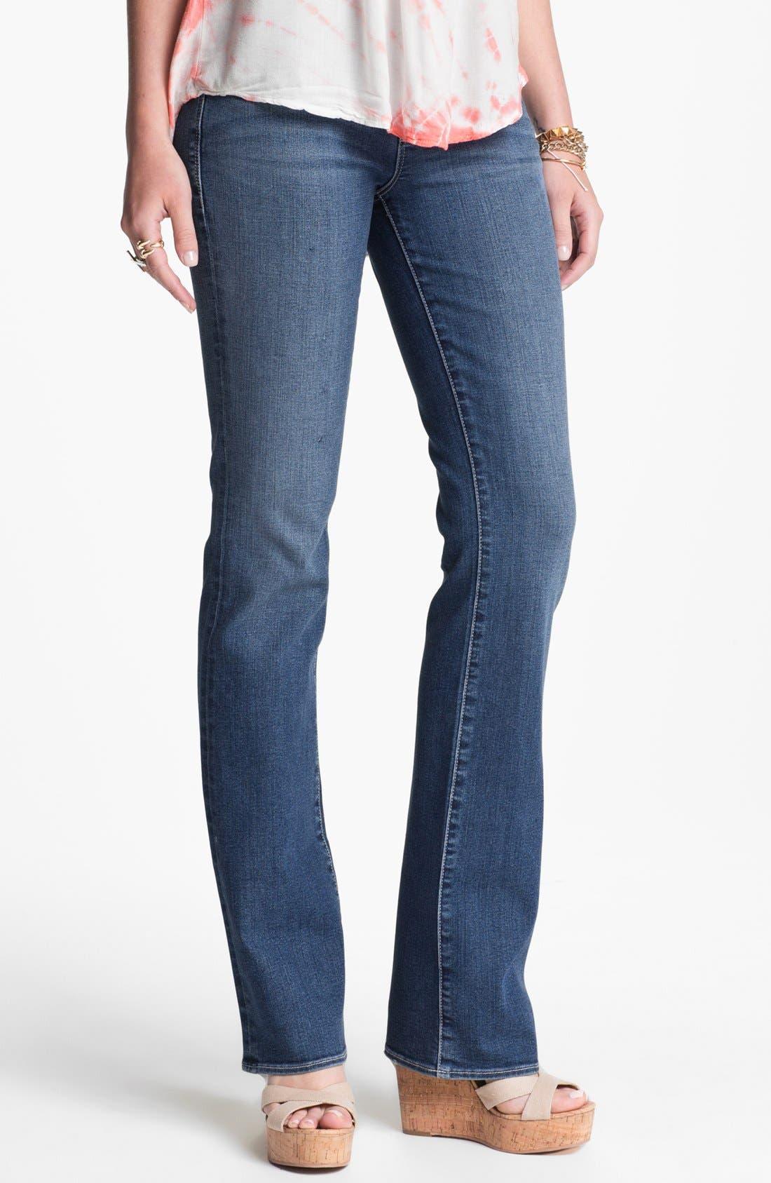 Main Image - Articles of Society 'Kendra' Bootcut Jeans (Medium Wash) (Juniors)