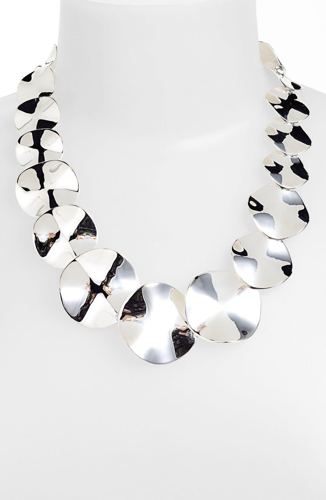 Main Image - Ippolita 'Scultura' Wavy Disc Collar Necklace