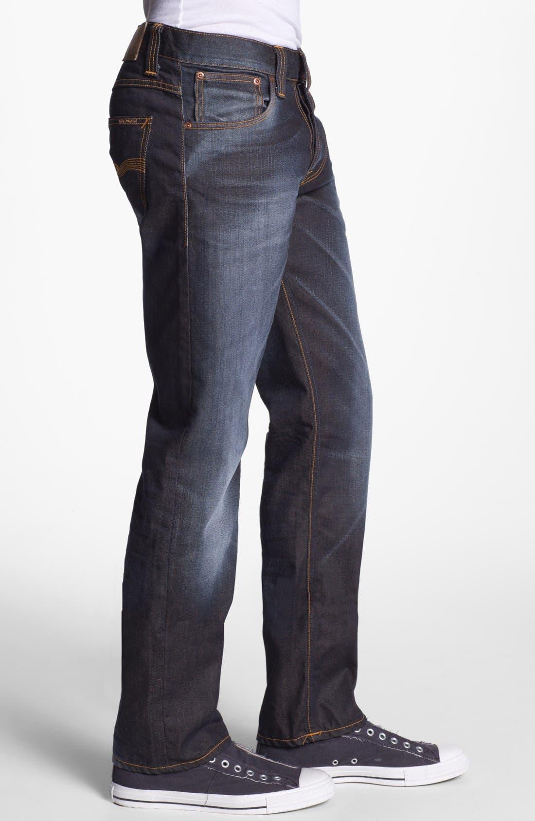 Alternate Image 3  - Nudie Jeans 'Average Joe' Straight Leg Jeans (Organic Steve Replica)