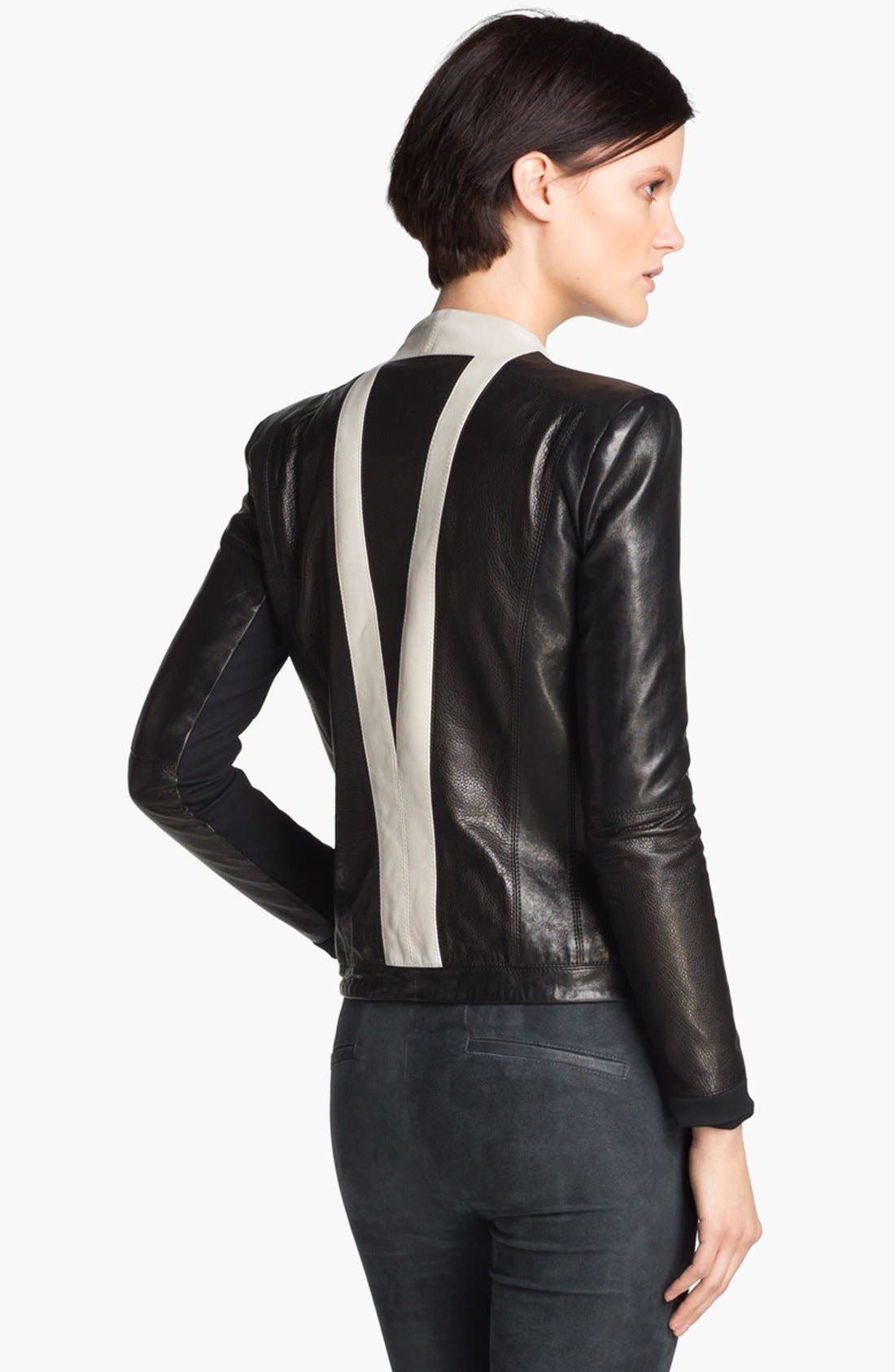 Alternate Image 5  - Helmut Lang 'Evolution' Leather Jacket
