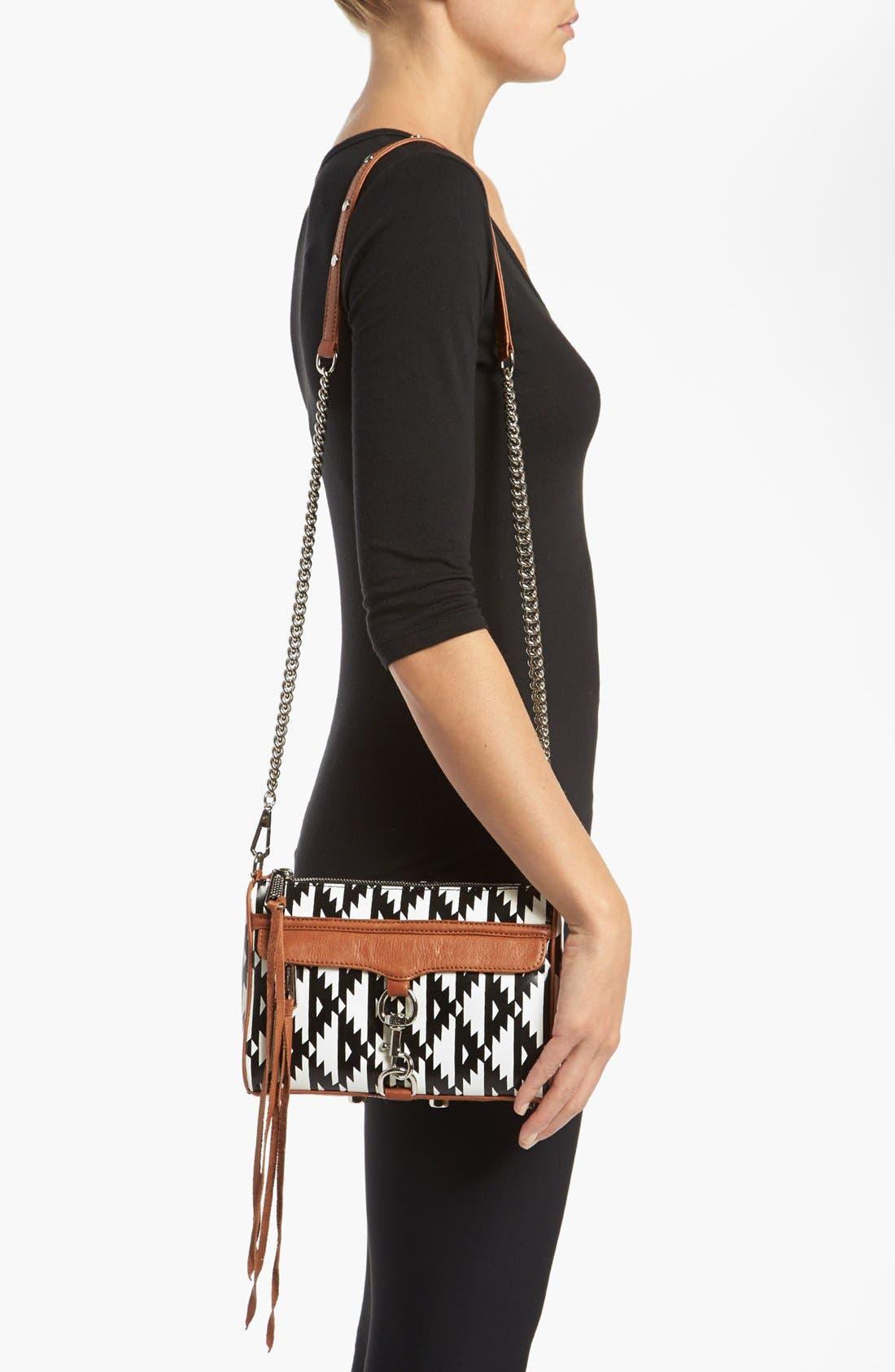 Alternate Image 2  - Rebecca Minkoff 'Mini MAC' Ikat Leather Convertible Crossbody Bag