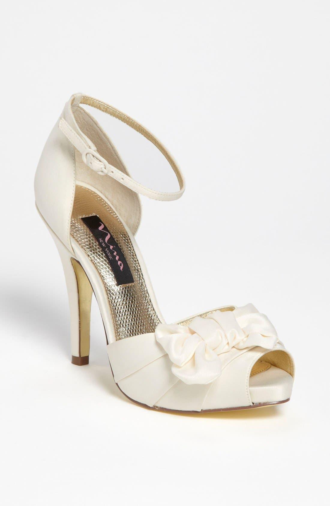 Alternate Image 1 Selected - Nina 'Electra' Sandal (Online Only)