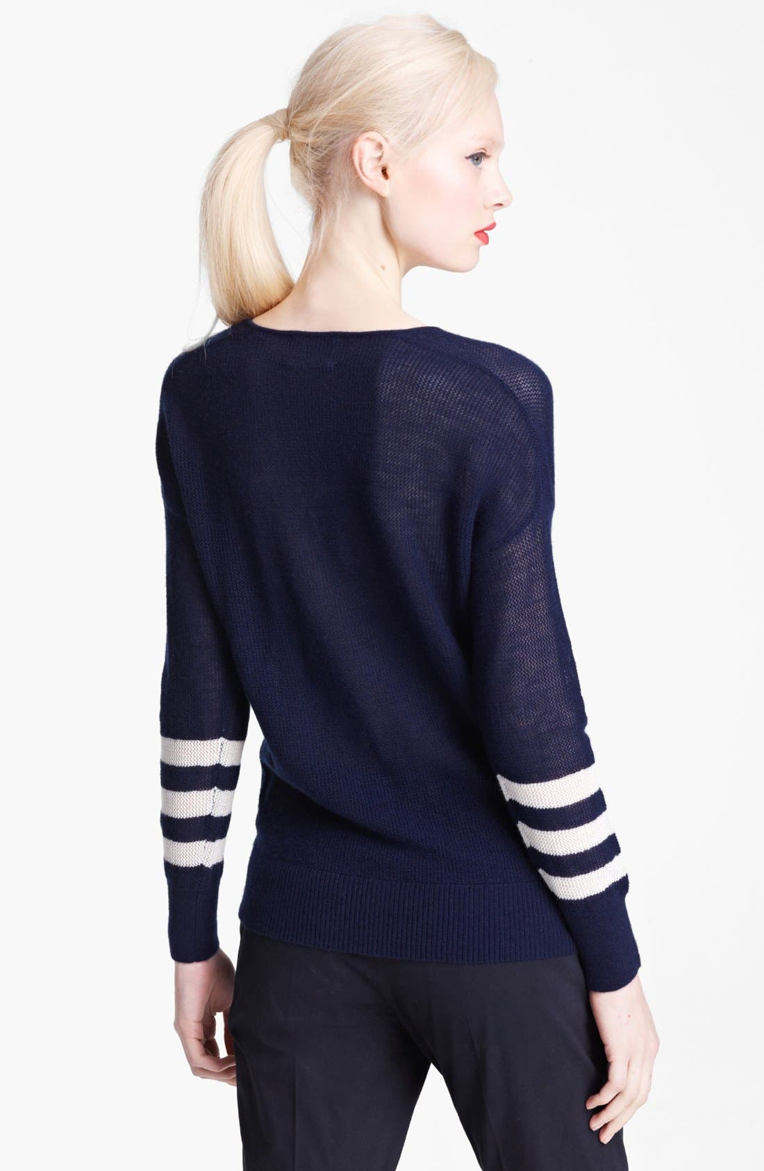 Alternate Image 2  - Band of Outsiders Cashmere Sweater