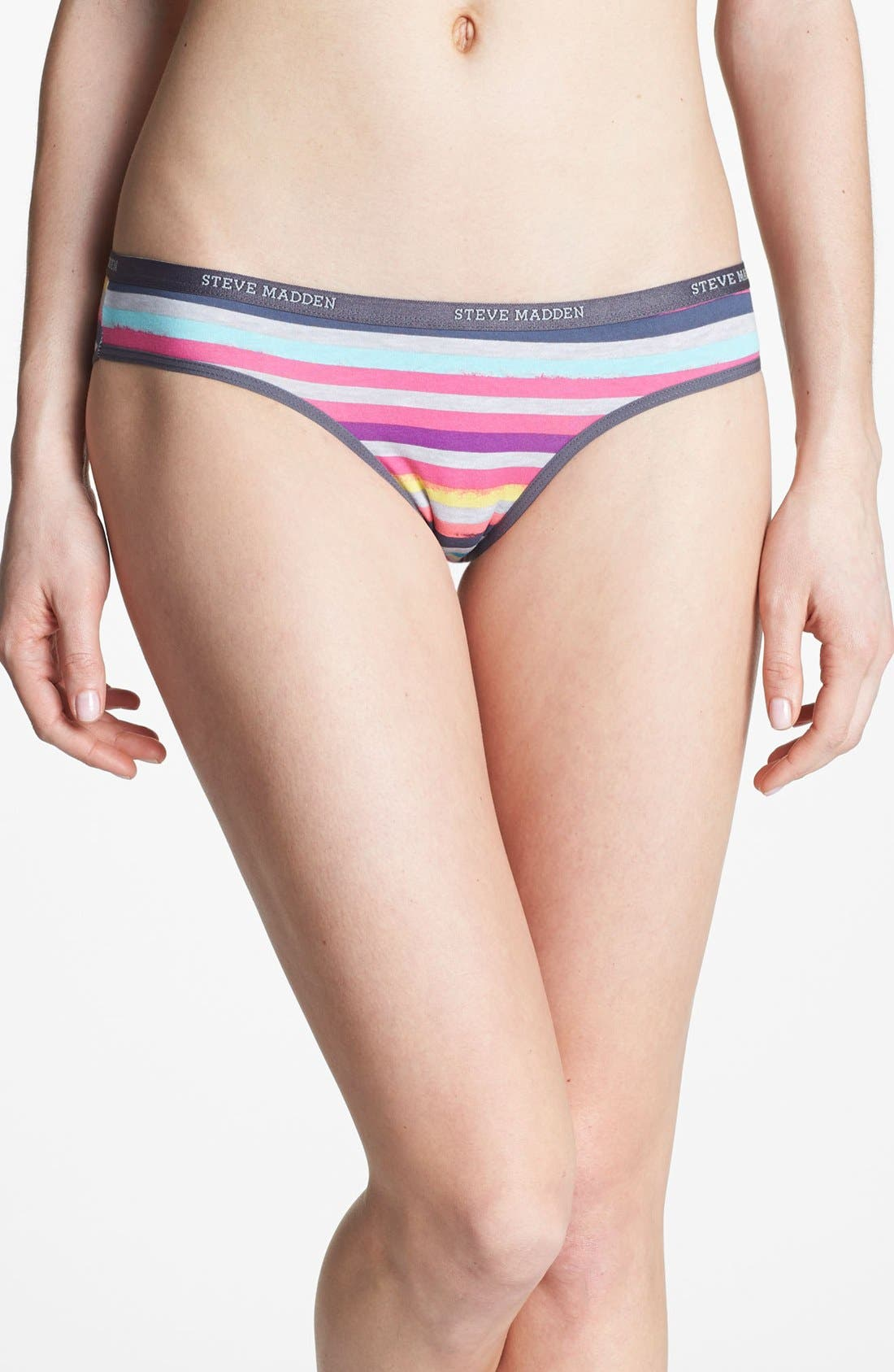 Alternate Image 1 Selected - Steve Madden 'Signature' Bikini (3 for $25)