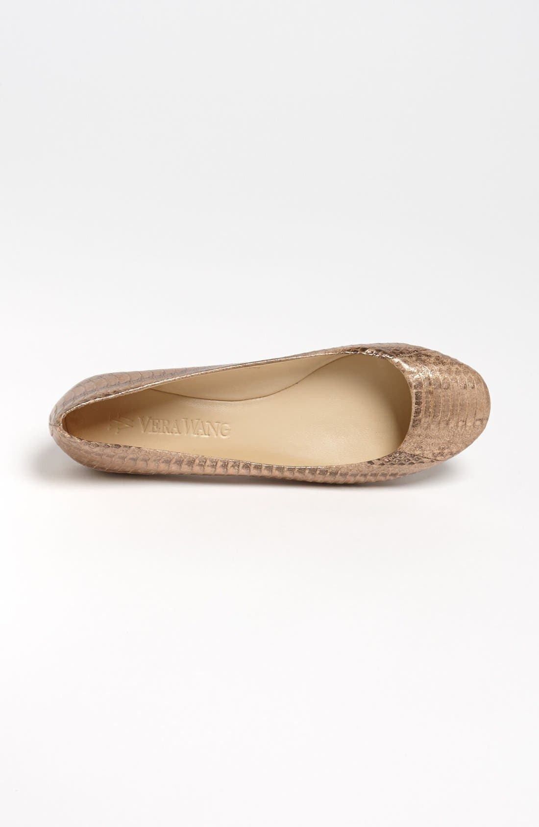 Alternate Image 3  - Vera Wang Footwear 'Lara' Flat
