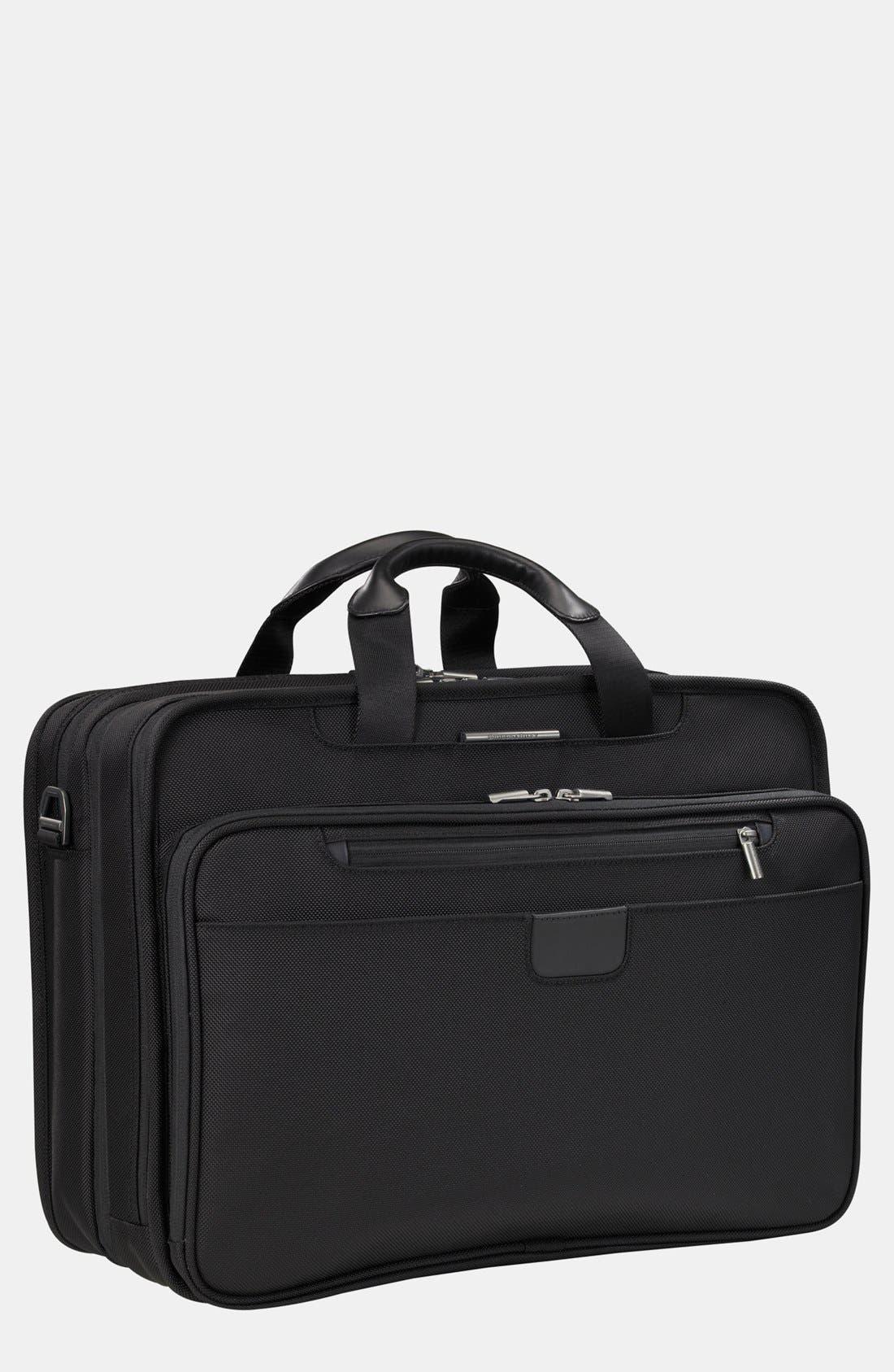 Alternate Image 1 Selected - Briggs & Riley 'Executive' Ballistic Nylon Briefcase