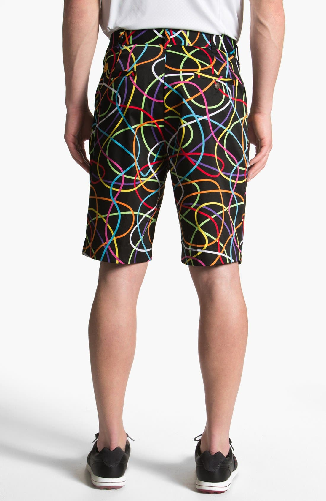 Alternate Image 2  - Loudmouth Golf 'Scribbles' Golf Shorts