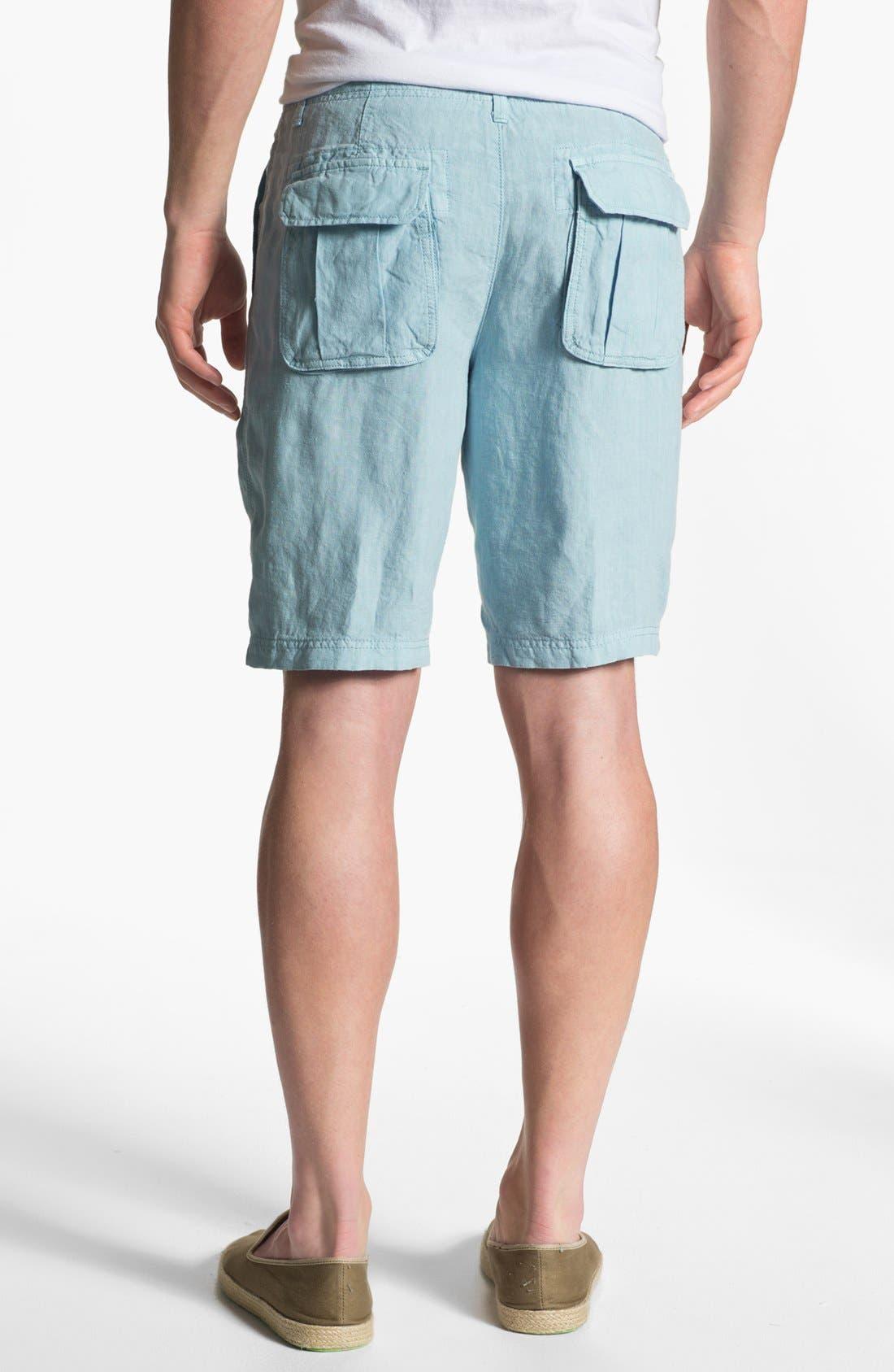 Alternate Image 2  - Lucky Brand 'Vermont' Linen Shorts