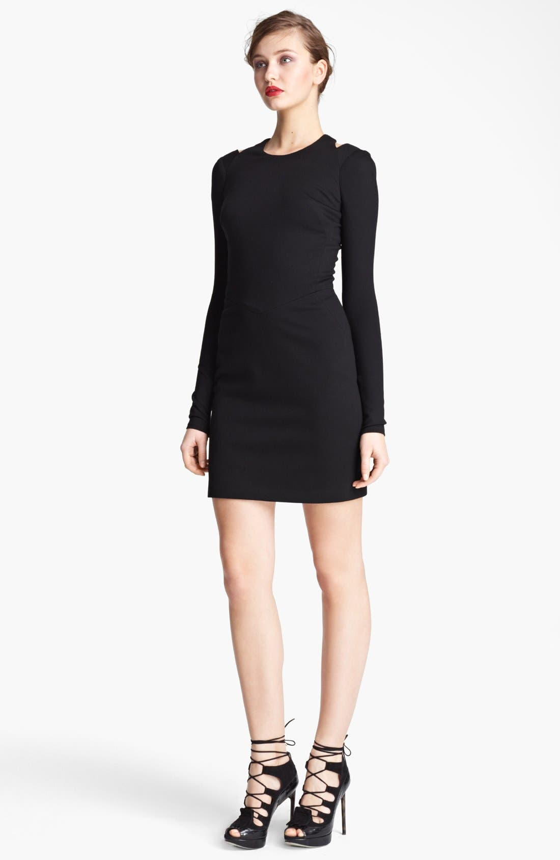 Main Image - Jason Wu Ponte Jersey Racerback Dress