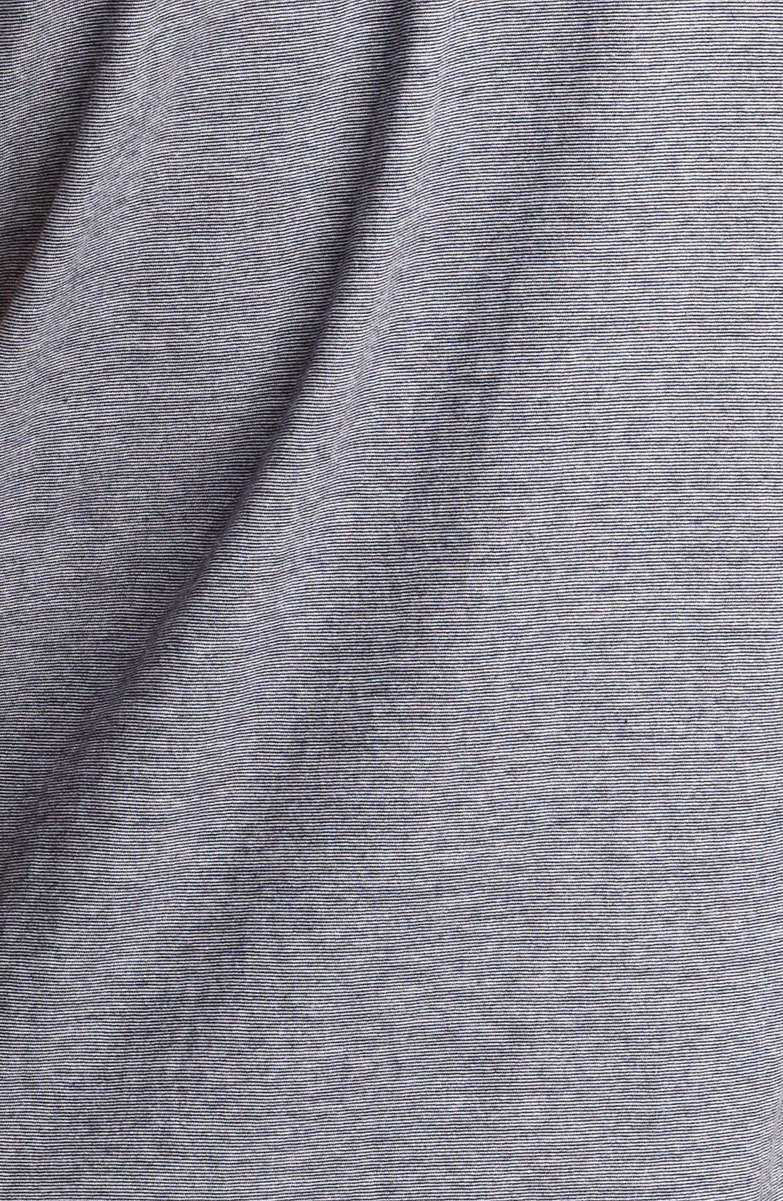 Alternate Image 3  - Billy Reid 'Pensacola' Mini Stripe Slim Fit Jersey Polo