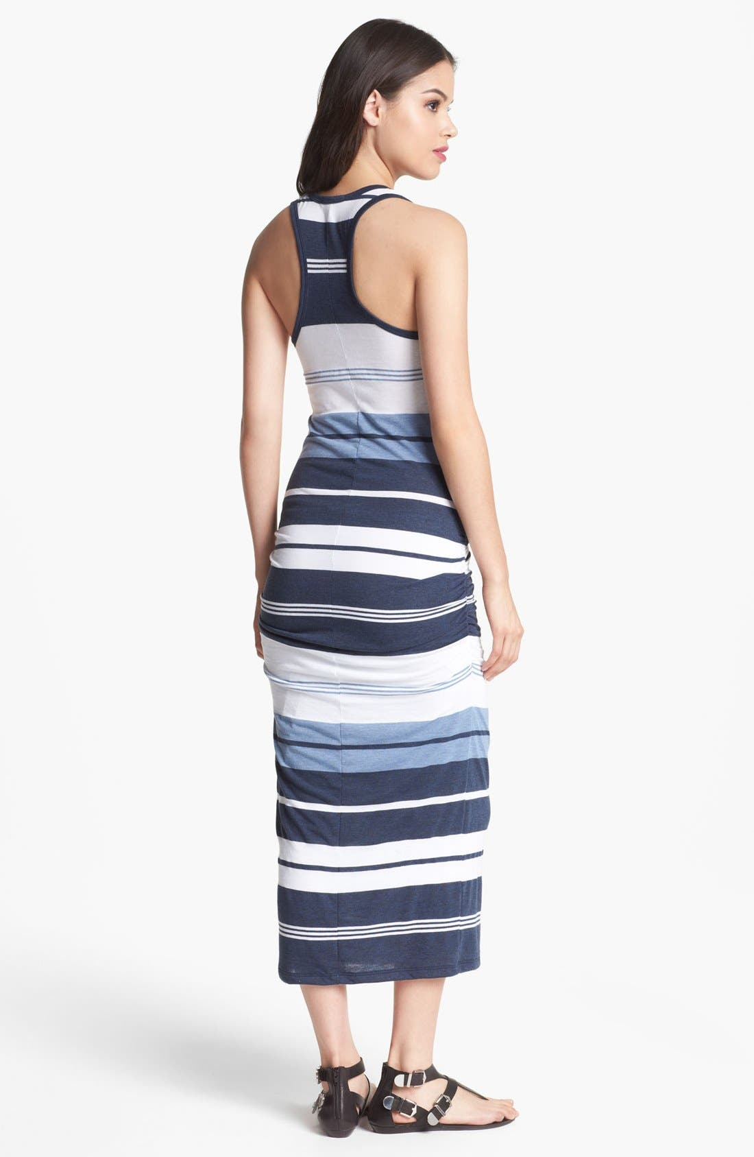 Alternate Image 2  - James Perse 'Pacific Stripe' Racerback Dress