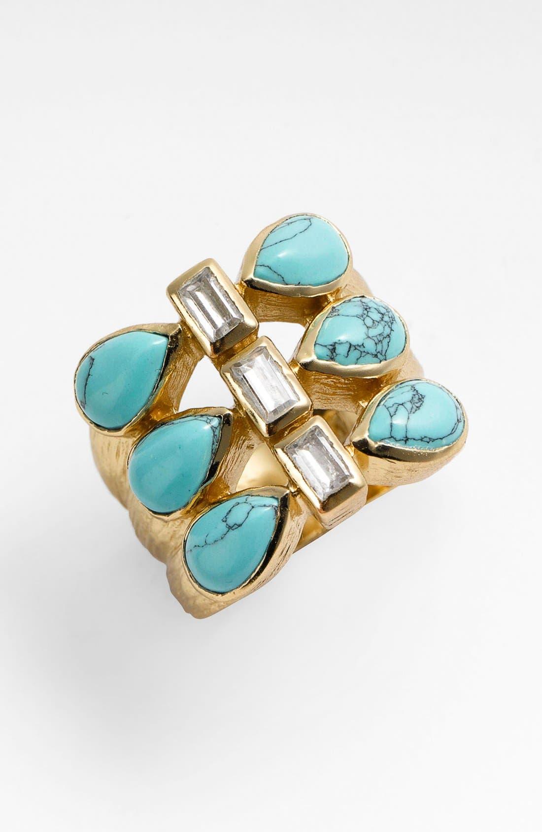 Alternate Image 1 Selected - Melinda Maria 'Frankie' Cluster Ring
