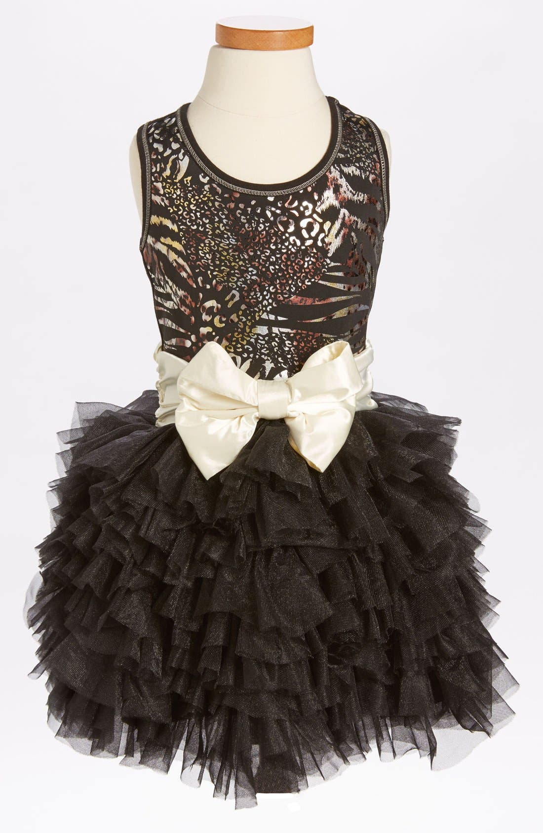 Main Image - Ooh! La, La! Couture 'Wow - Metallic Dream' Dress (Little Girls & Big Girls) (Online Only)