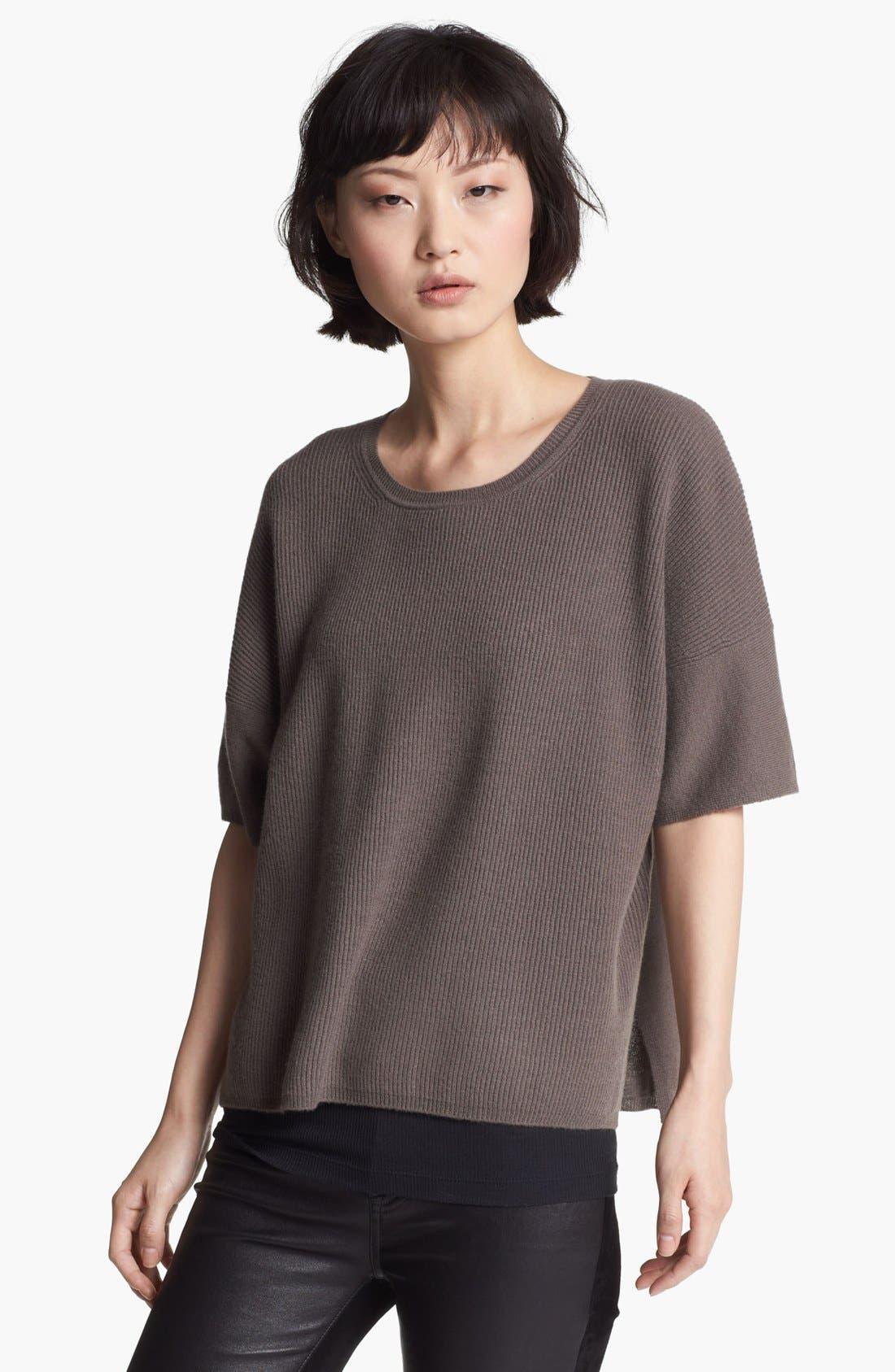 Alternate Image 1 Selected - Vince Crewneck Cashmere Sweater