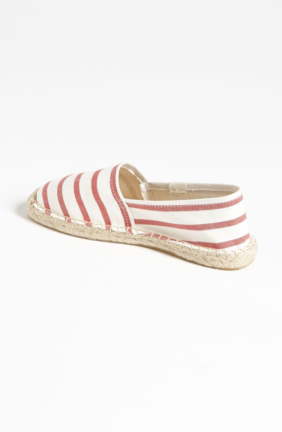 Alternate Image 2  - Soludos 'Classic - Stripe' Slip-On (Women)