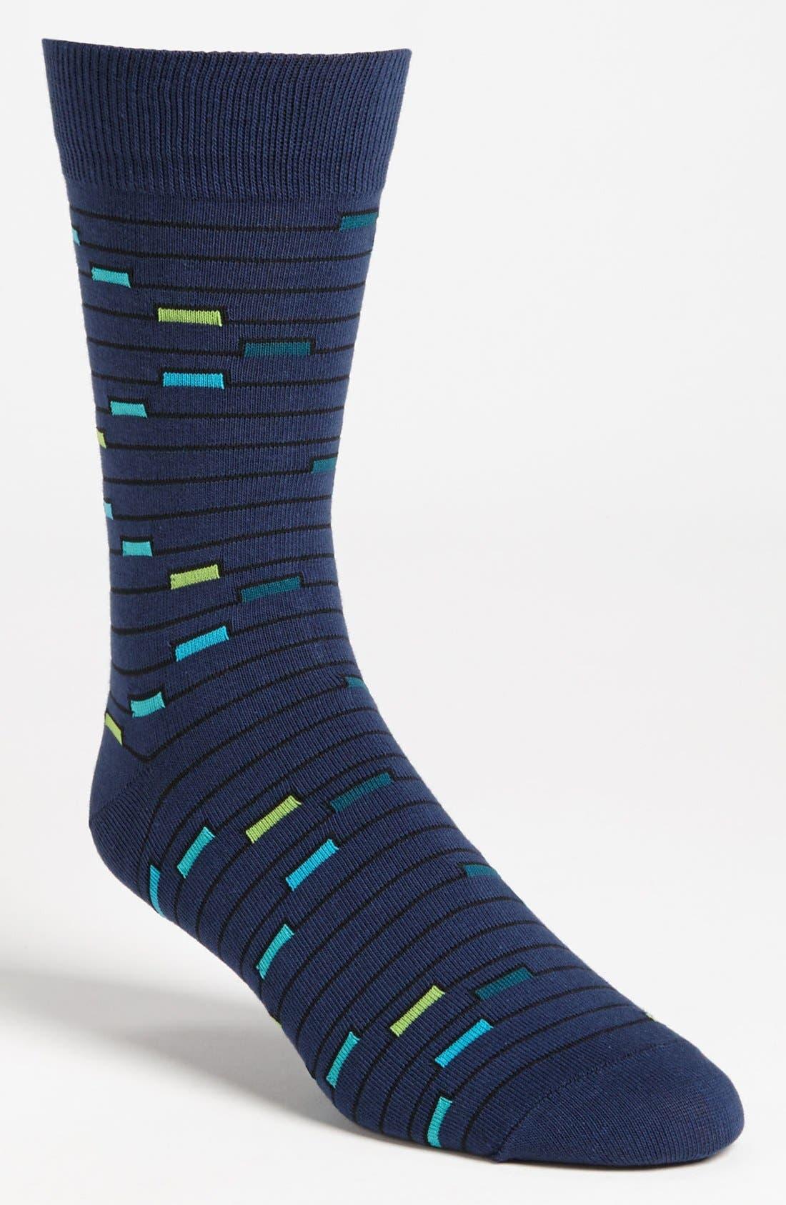 Alternate Image 1 Selected - Richer Poorer 'Truant' Stripe Socks