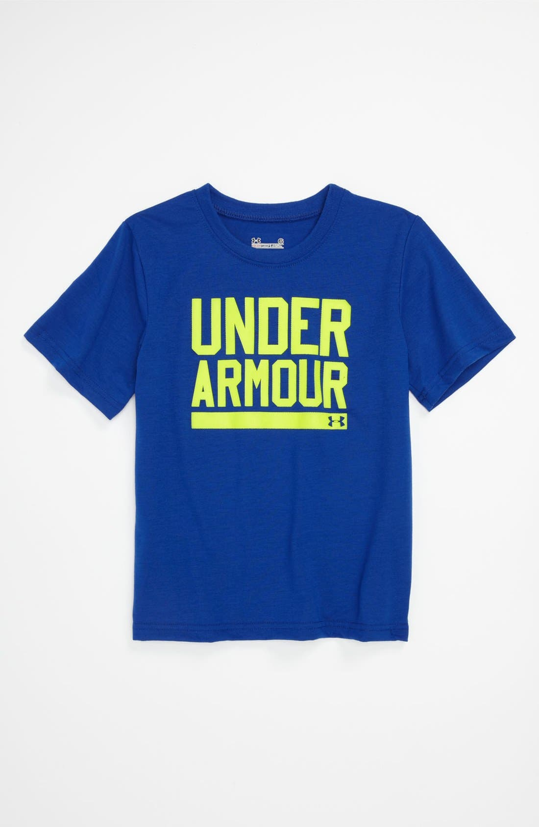 Alternate Image 1 Selected - Under Armour 'Branded' T-Shirt (Little Boys)